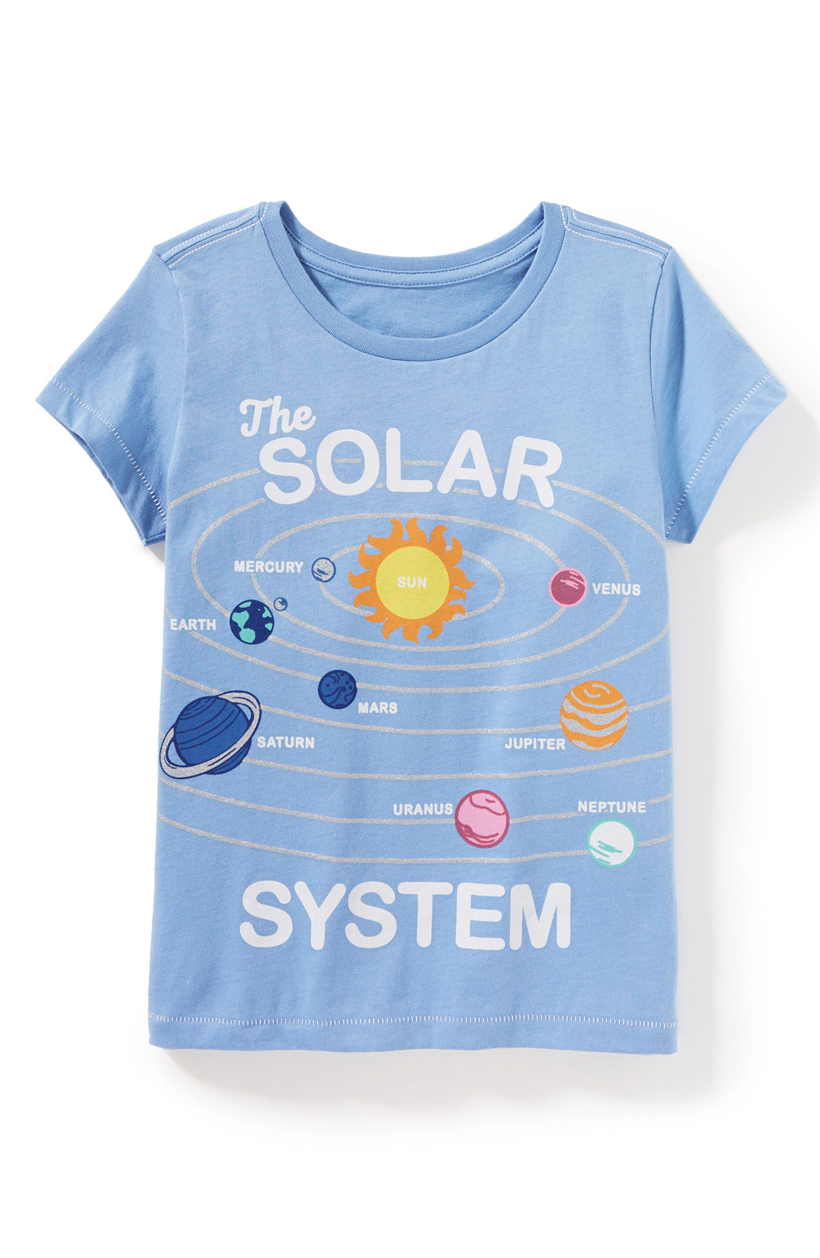 Solar System Graphic Tee,                             Alternate thumbnail 3, color,                             410