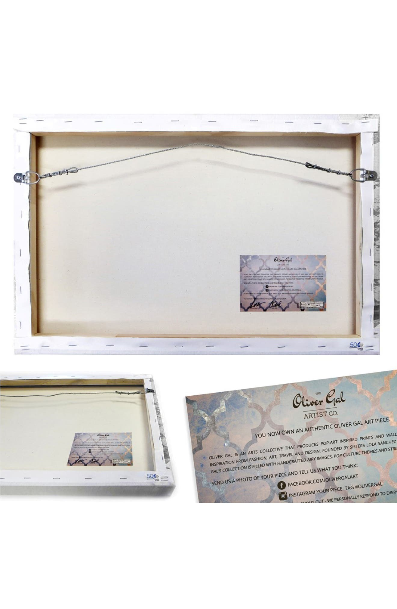 'Limited Editions' Canvas Wall Art,                             Alternate thumbnail 4, color,                             900
