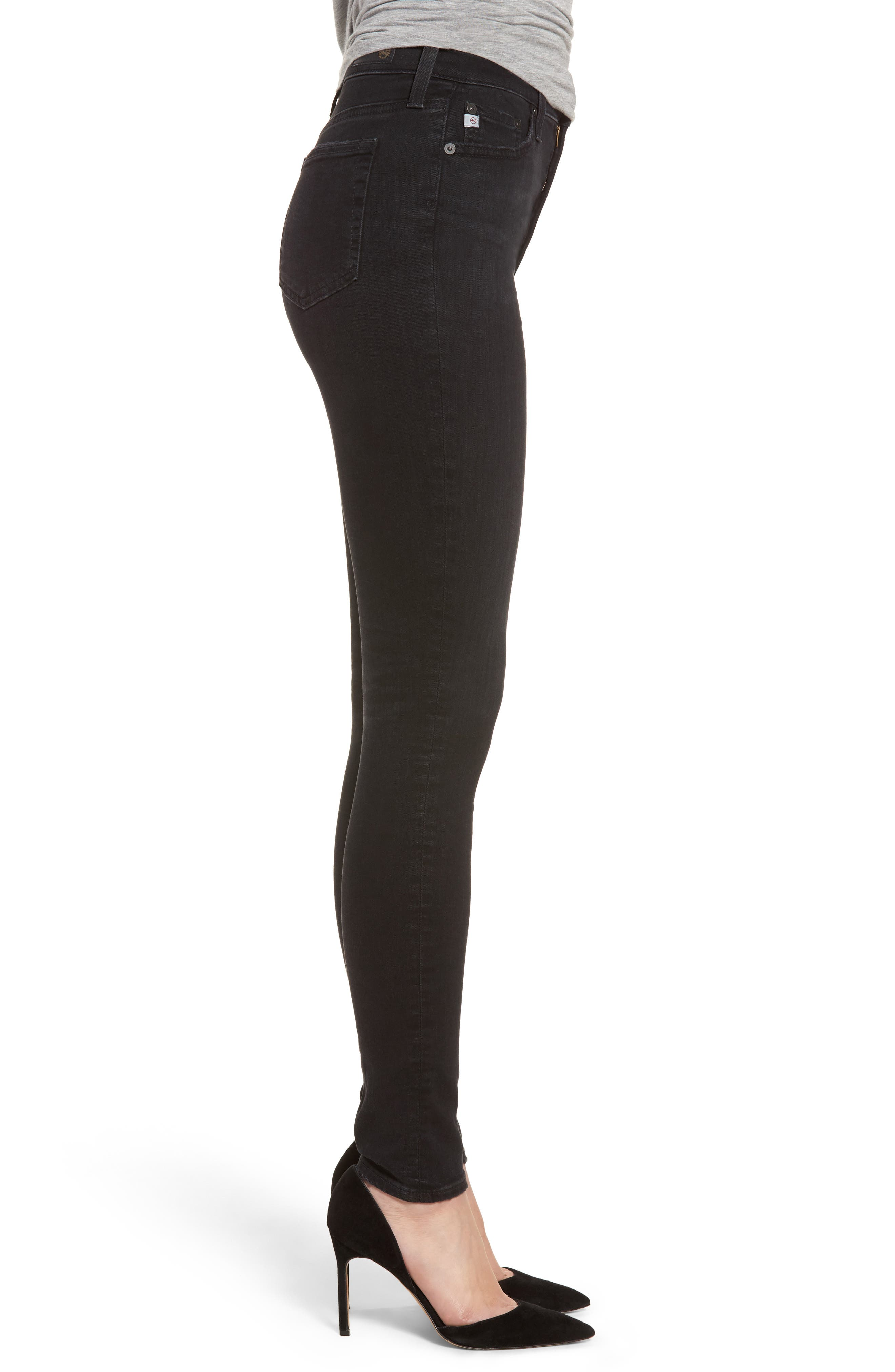 Mila High Rise Skinny Jeans,                             Alternate thumbnail 3, color,                             016