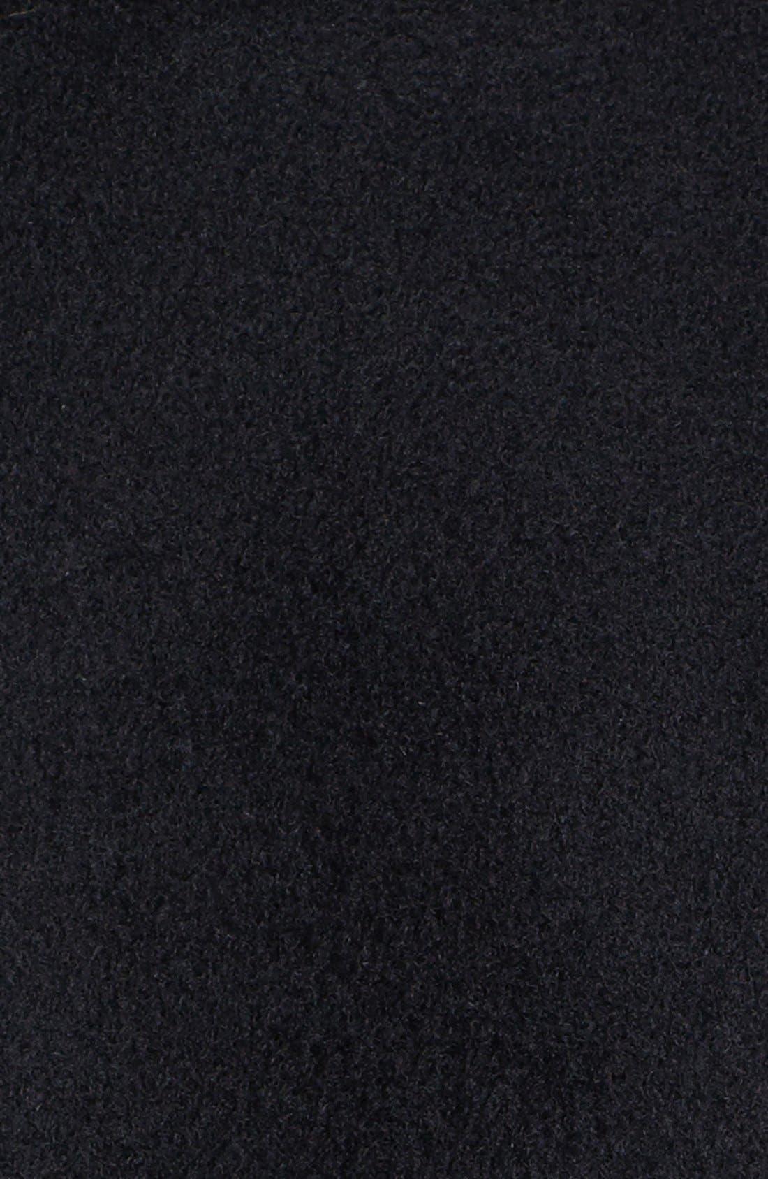 Couture Genuine Fox Fur Collar Coat,                             Alternate thumbnail 2, color,                             001