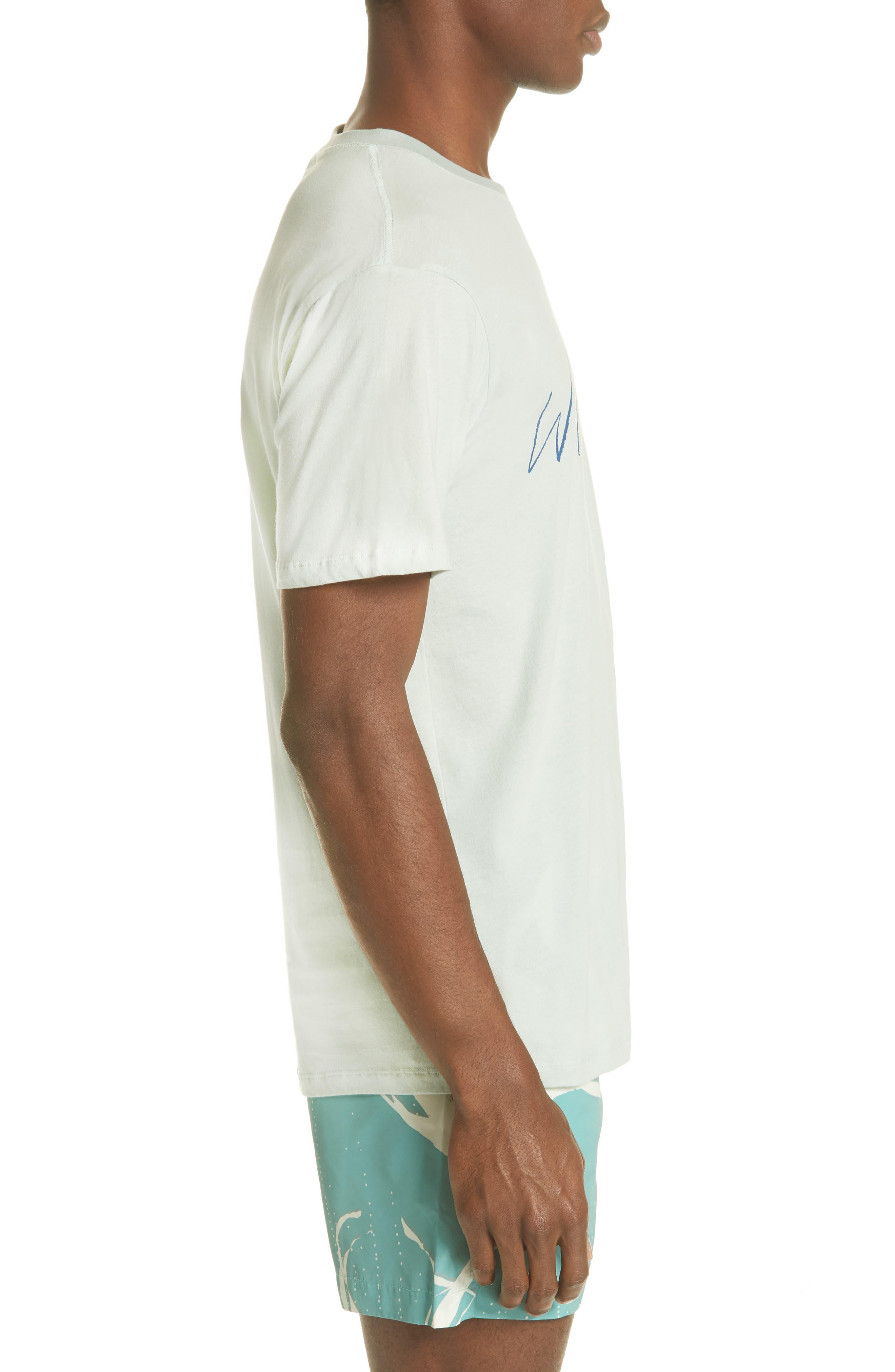Water Gun Graphic T-Shirt,                             Alternate thumbnail 3, color,                             BLUE