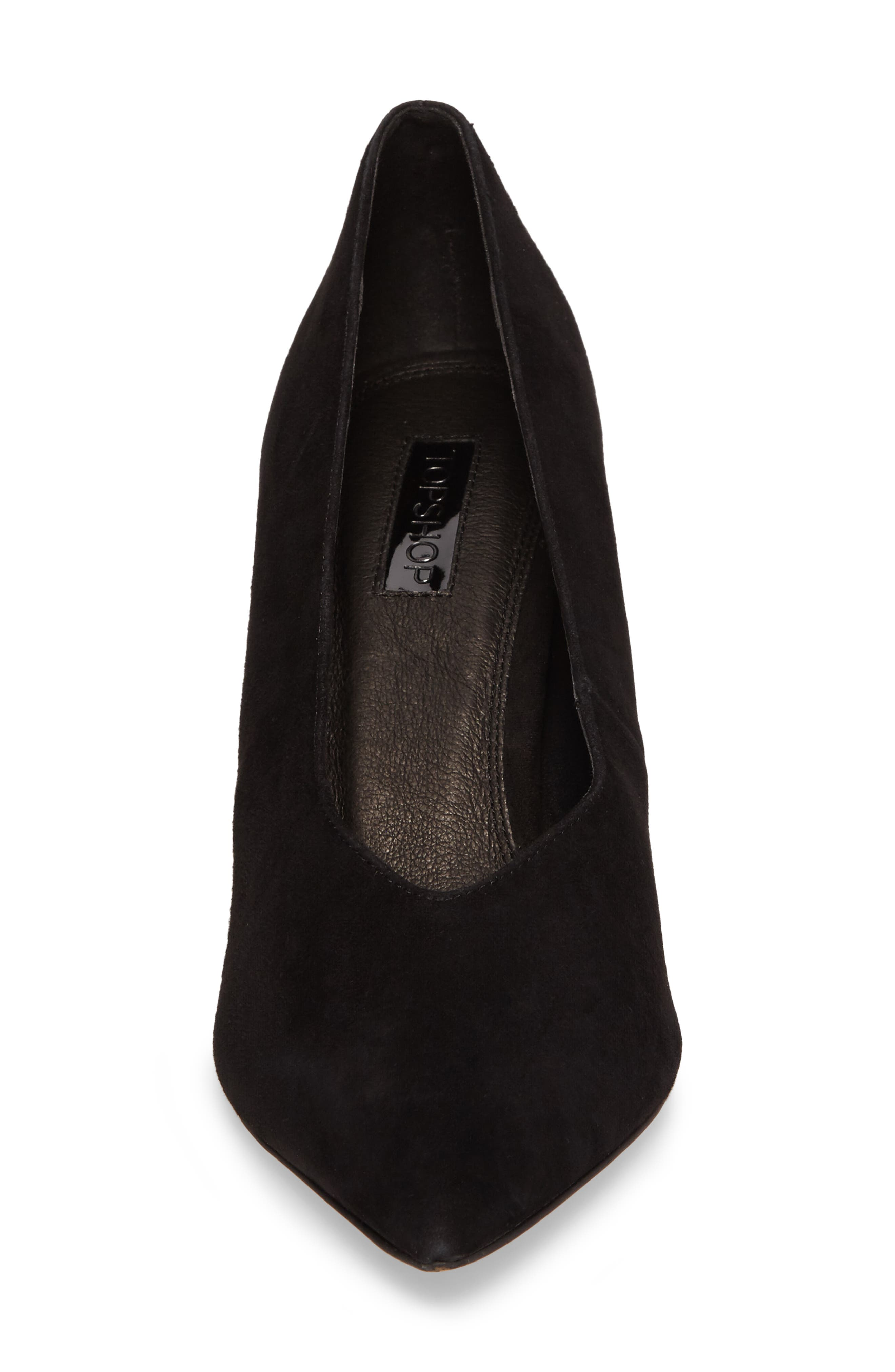 Greatal Pointy Toe Pump,                             Alternate thumbnail 4, color,                             001
