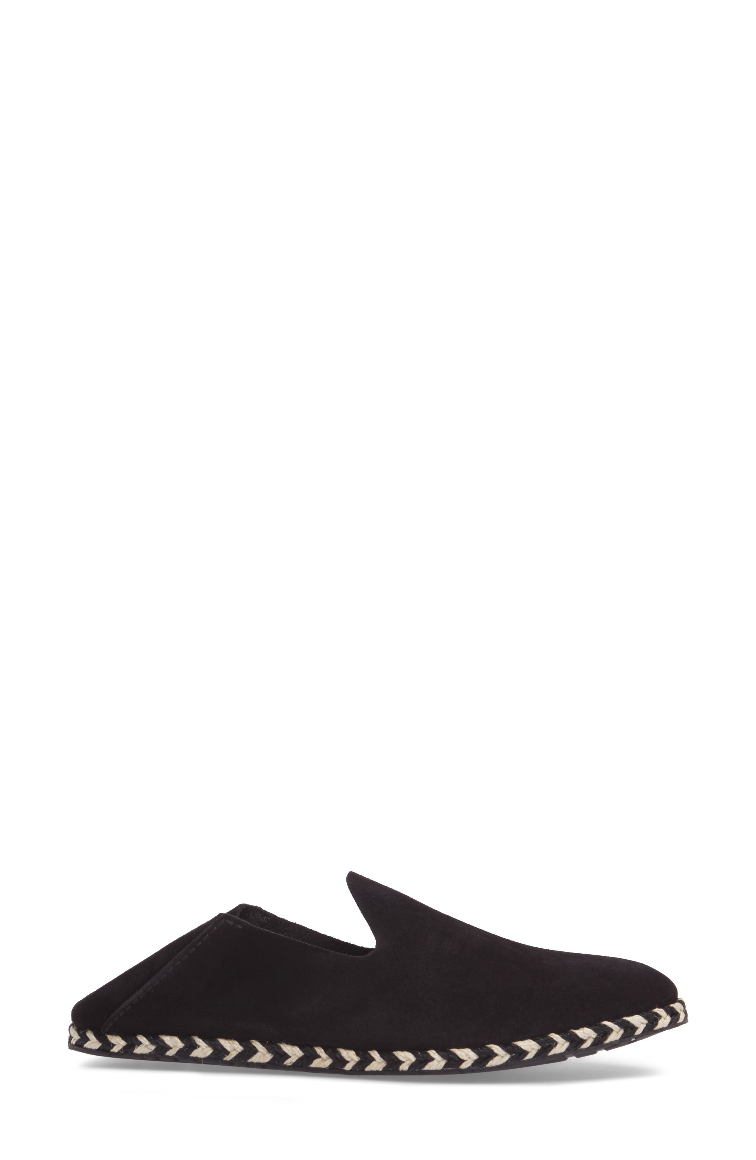 Yuli Convertible Woven Loafer,                             Alternate thumbnail 2, color,                             BLACK