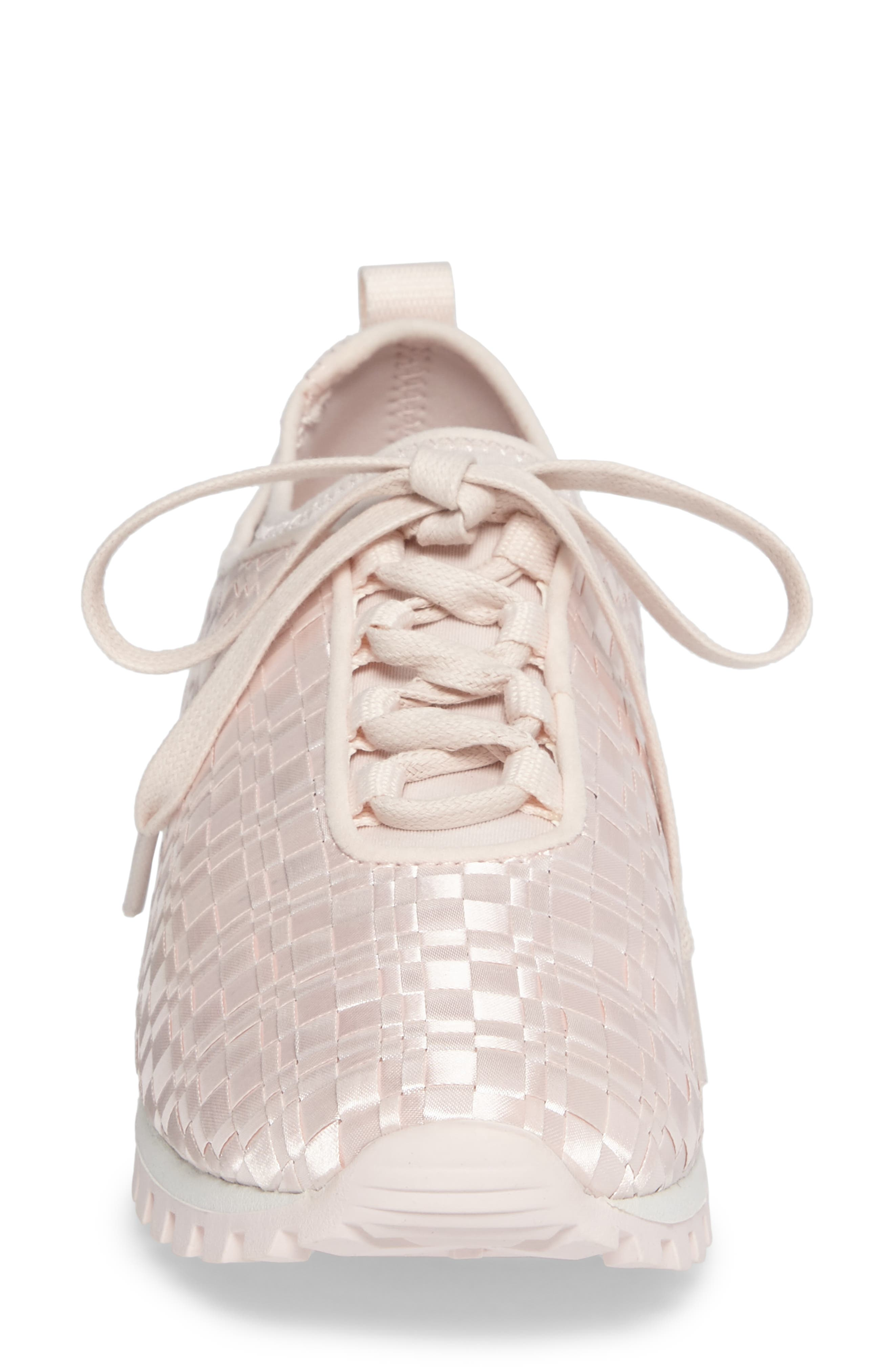 Lynn Sock Fit Woven Sneaker,                             Alternate thumbnail 8, color,