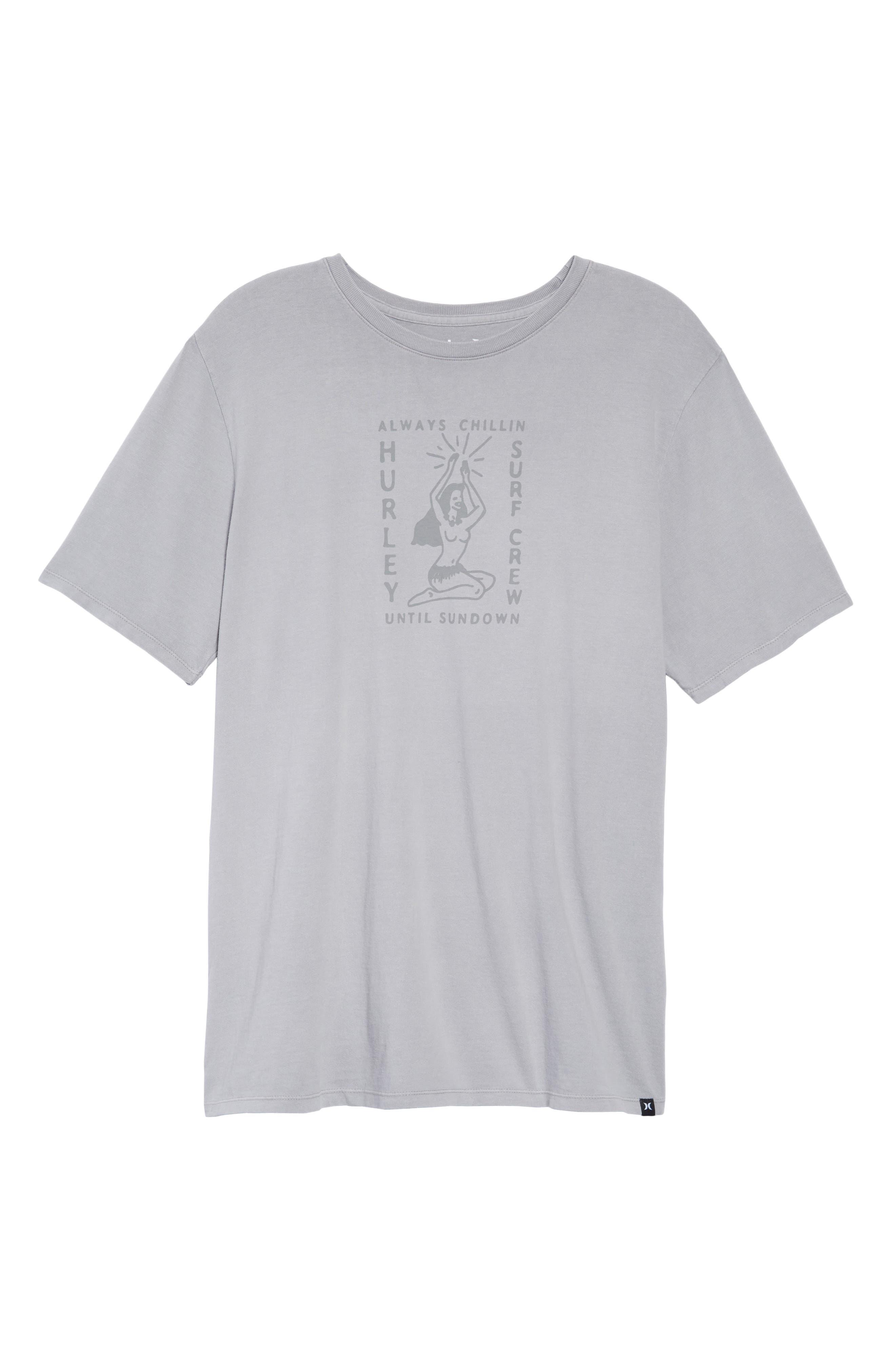 Sundown Summer Graphic T-Shirt,                             Alternate thumbnail 6, color,                             020