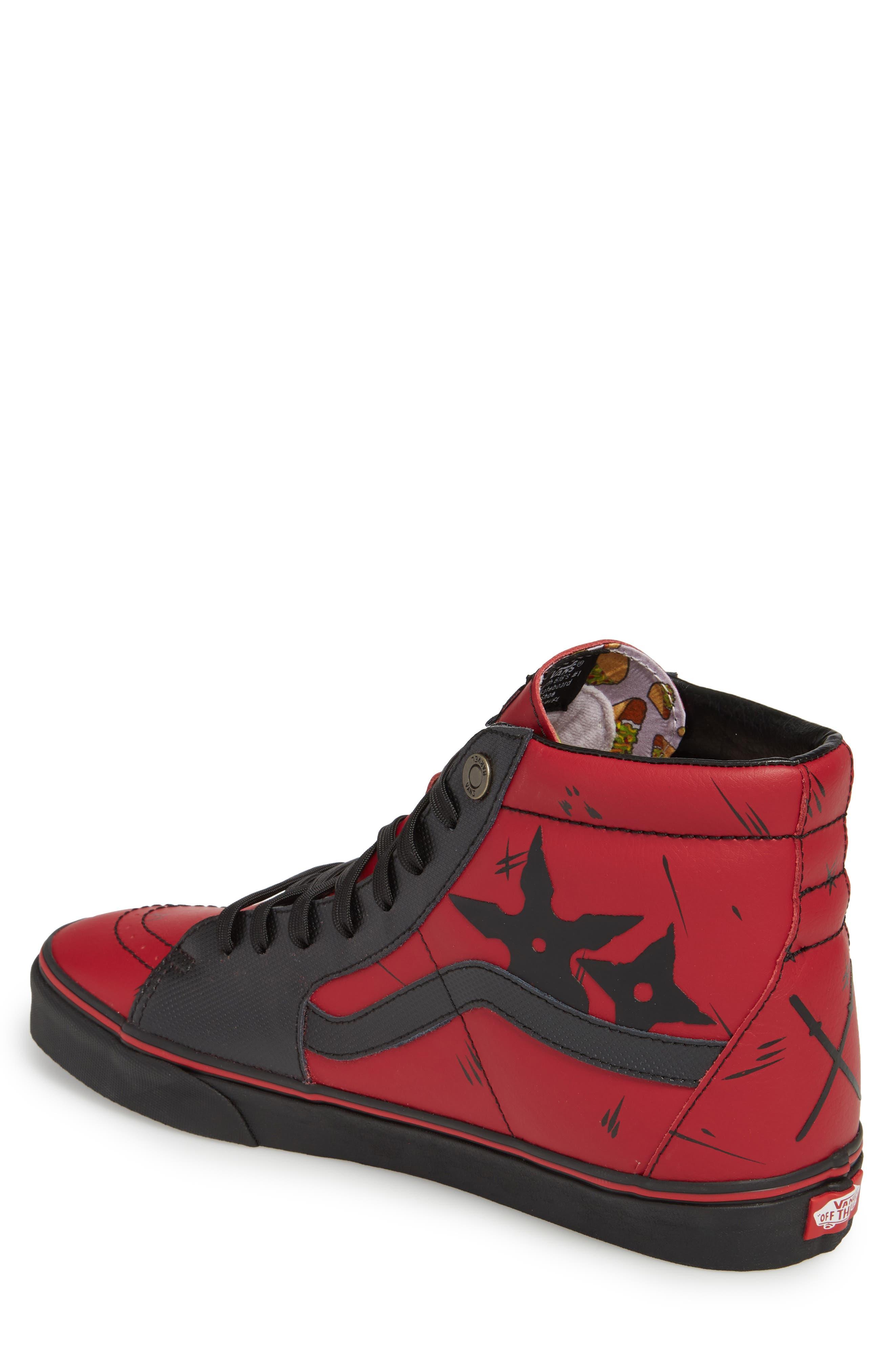 x Marvel<sup>®</sup> UA Sk8-Hi Sneaker,                             Alternate thumbnail 4, color,