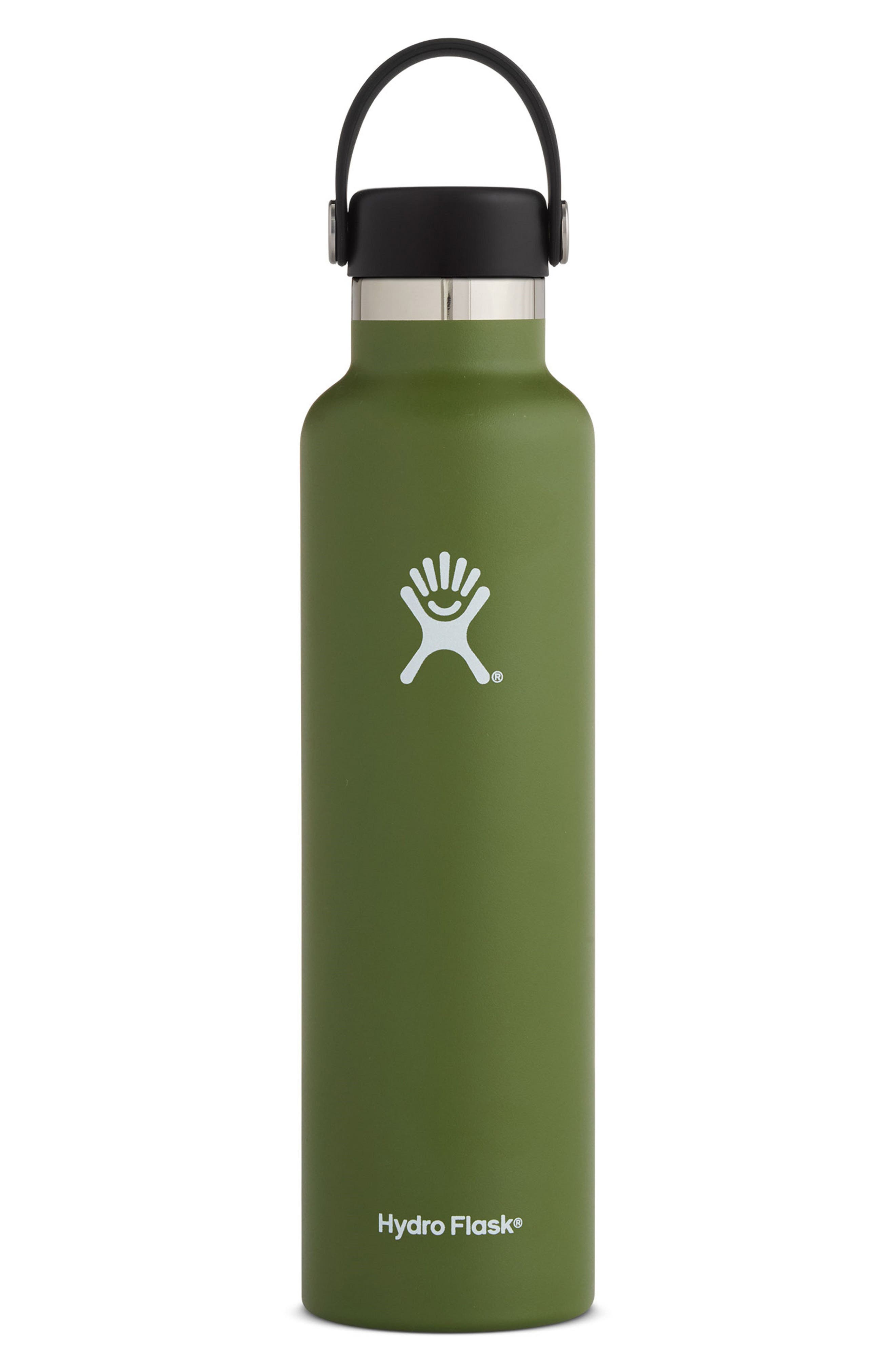 24-Ounce Standard Mouth Bottle,                         Main,                         color, OLIVE