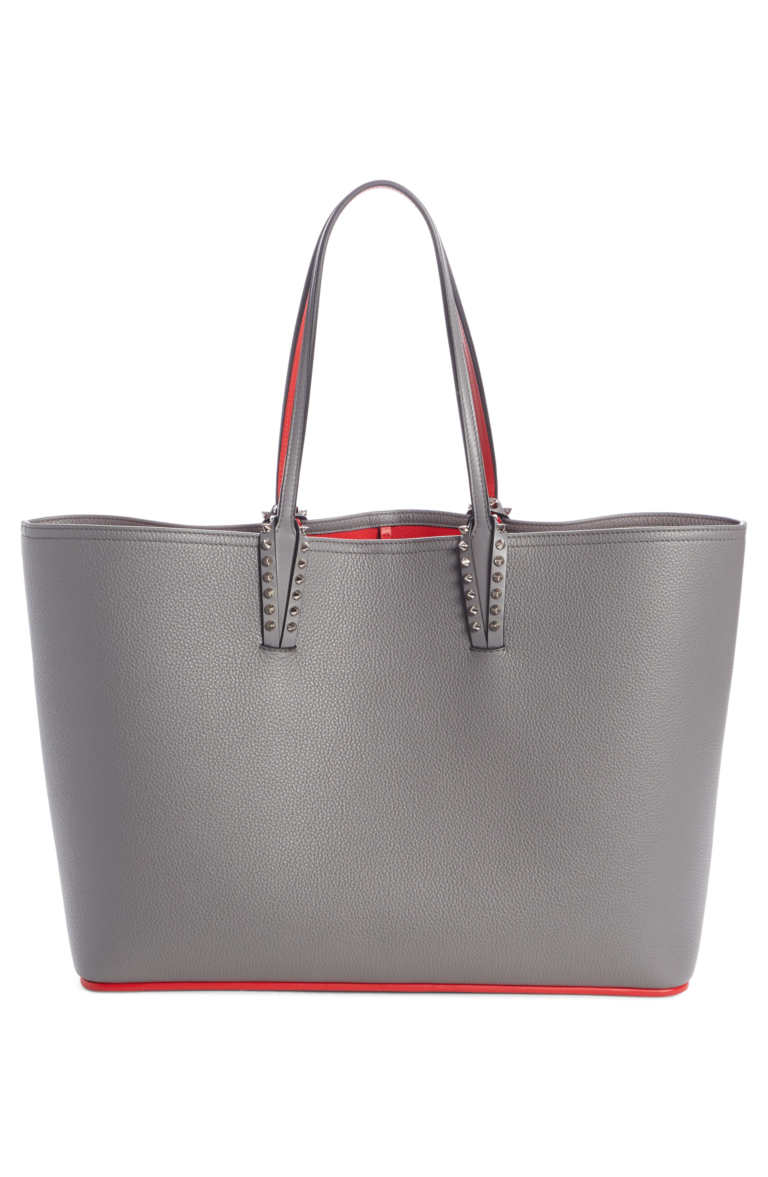 Cabata Calfskin Leather Tote,                             Alternate thumbnail 2, color,                             SHADOW/ SHADOW