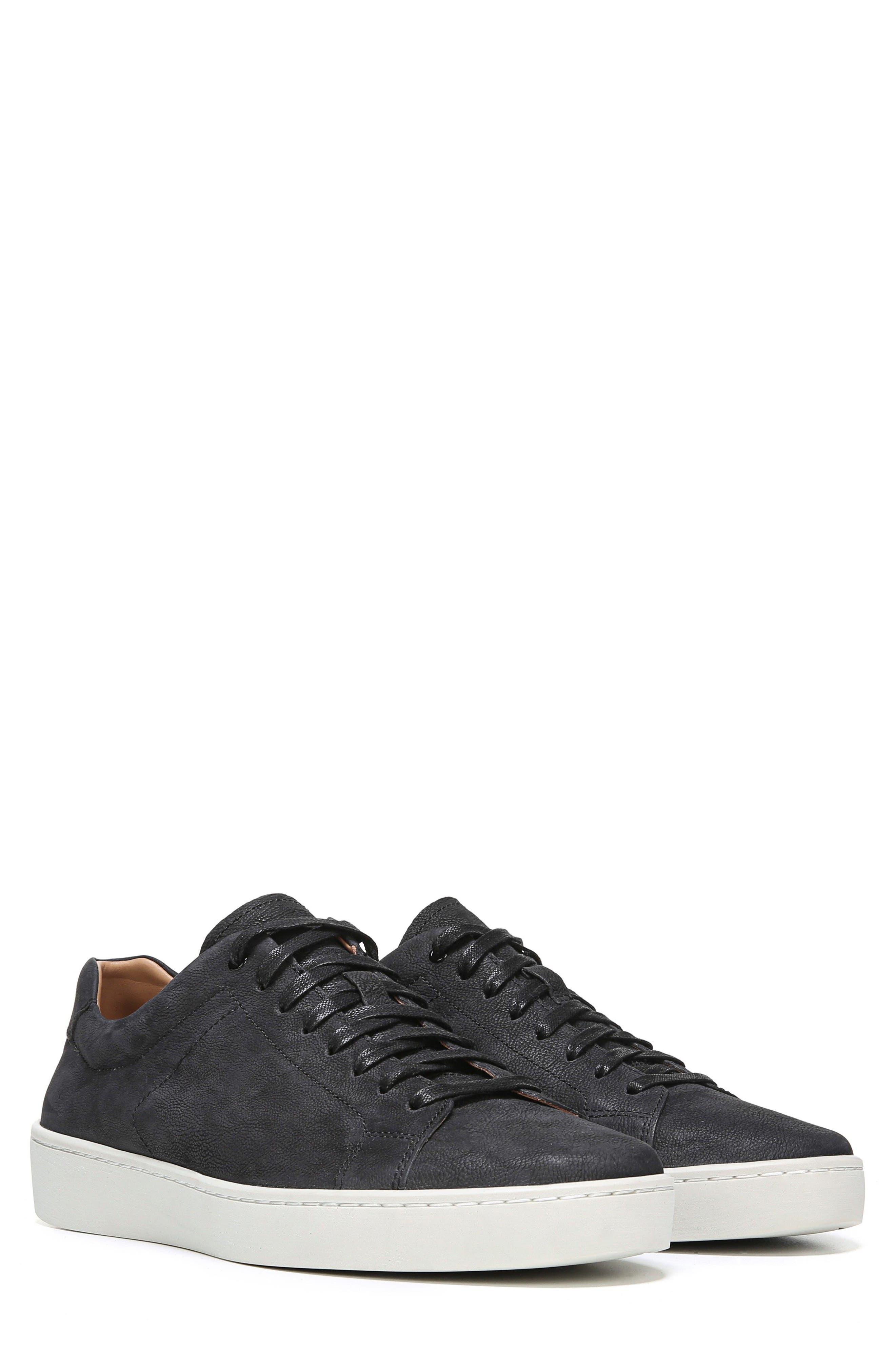 Slater Sneaker,                             Alternate thumbnail 7, color,                             BLACK NUBUCK