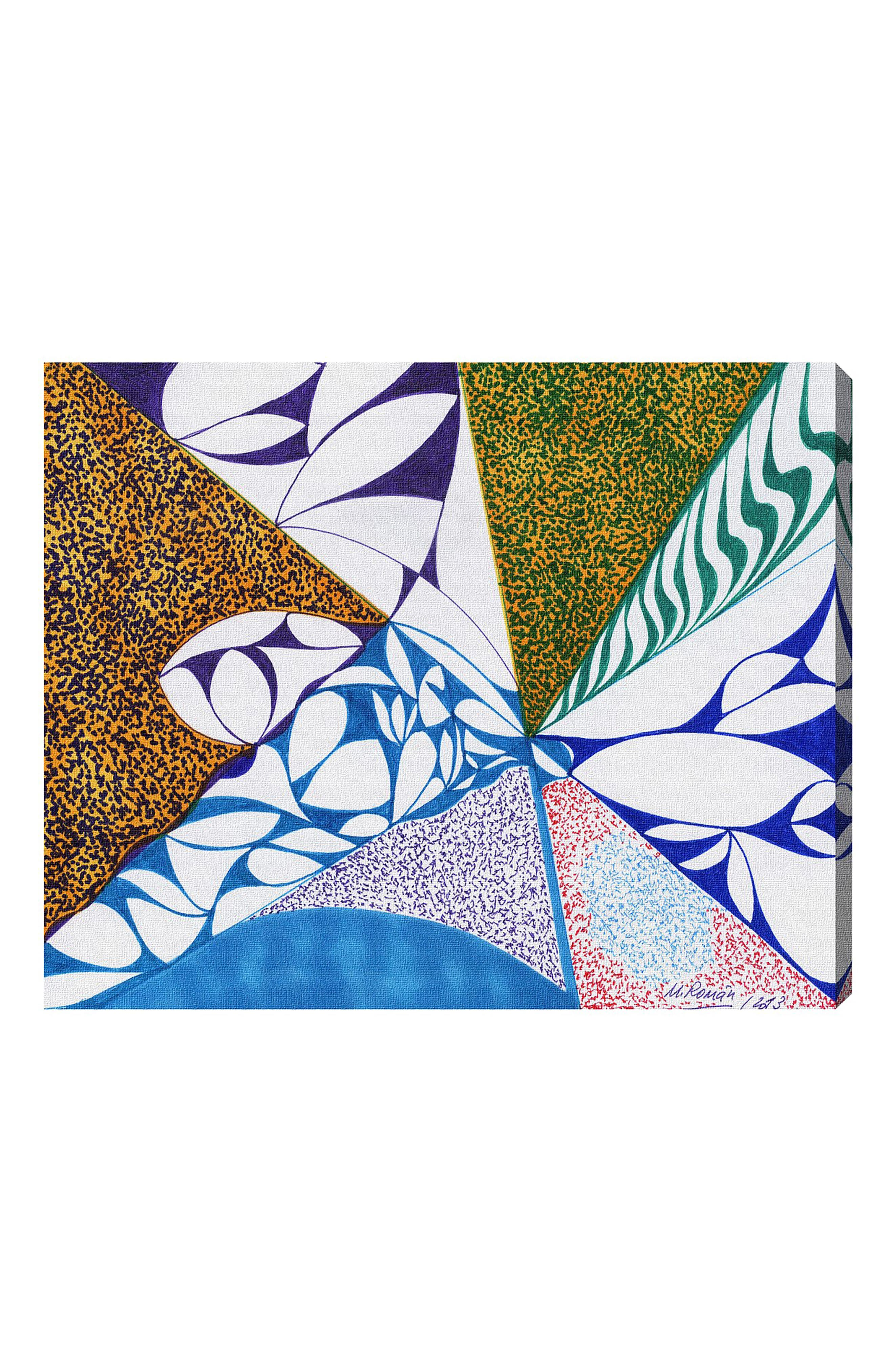 Farmland Canvas Wall Art,                             Main thumbnail 1, color,                             WHITE