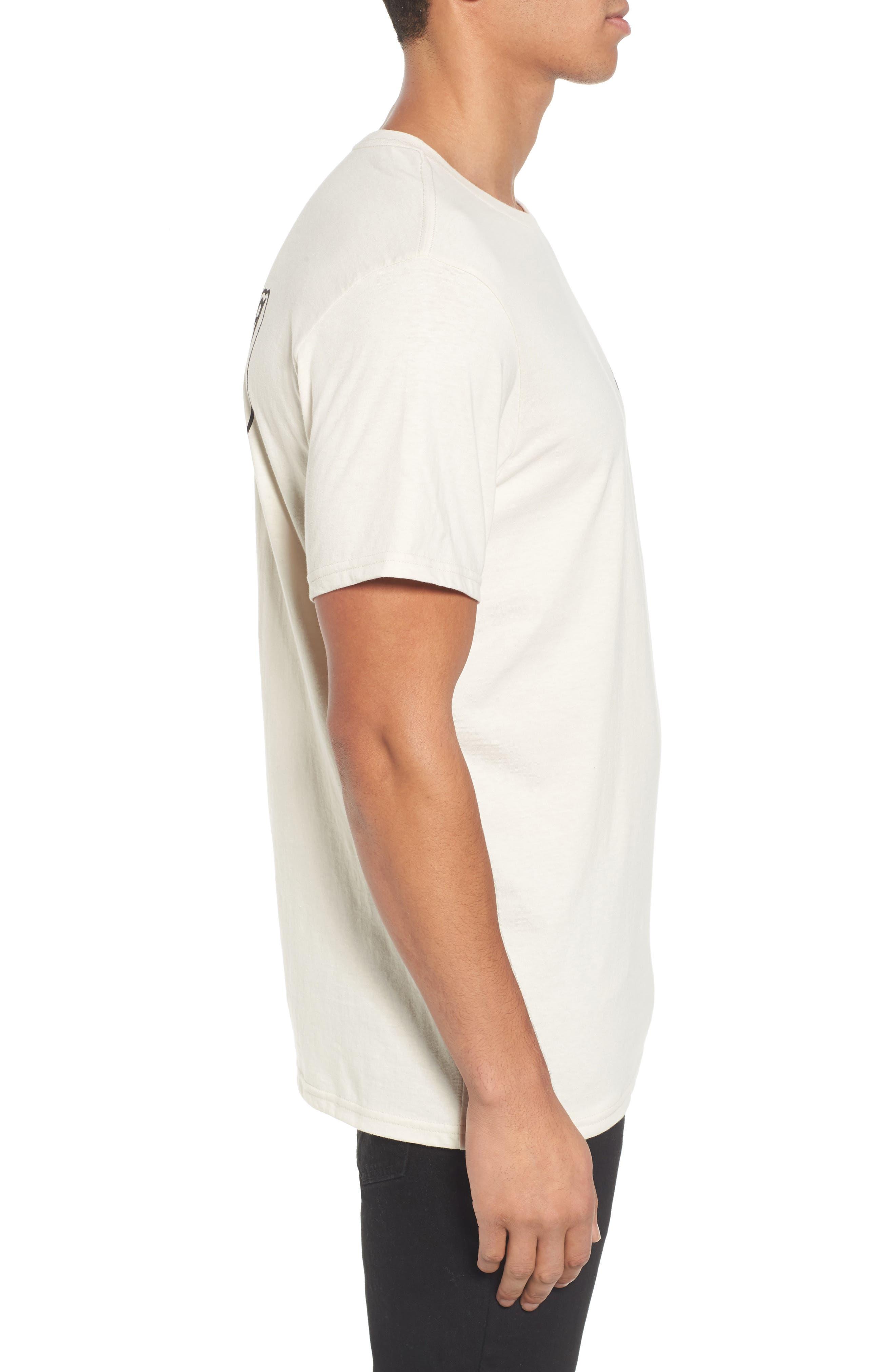 Farrah Graphic T-Shirt,                             Alternate thumbnail 3, color,                             250
