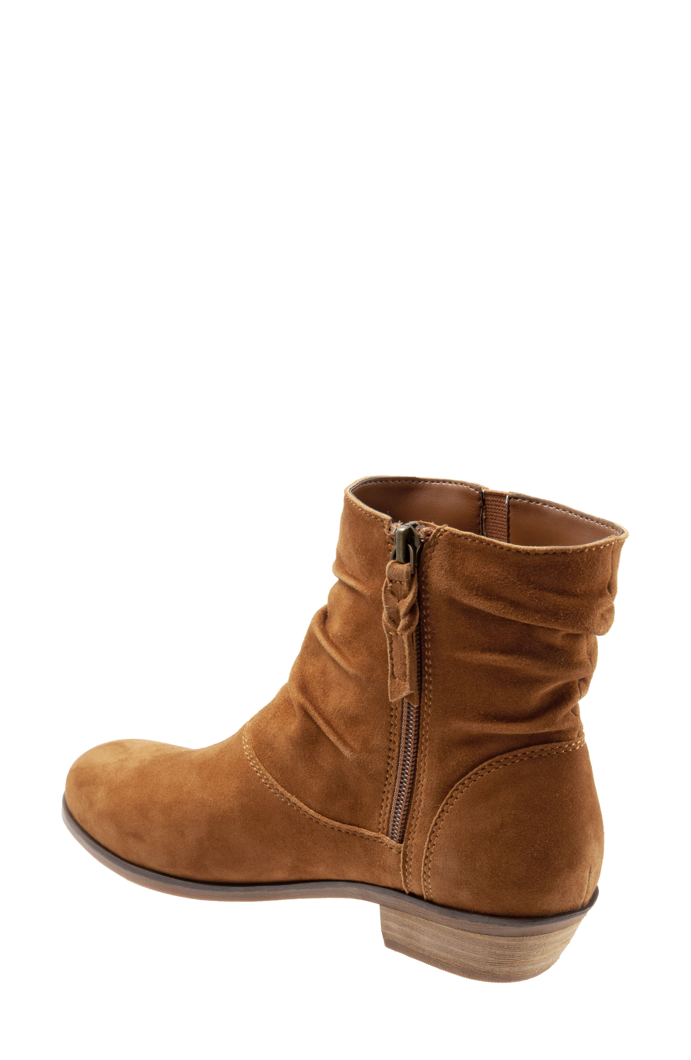 SOFTWALK<SUP>®</SUP>,                             Rochele Bootie,                             Alternate thumbnail 2, color,                             BRANDY SUEDE