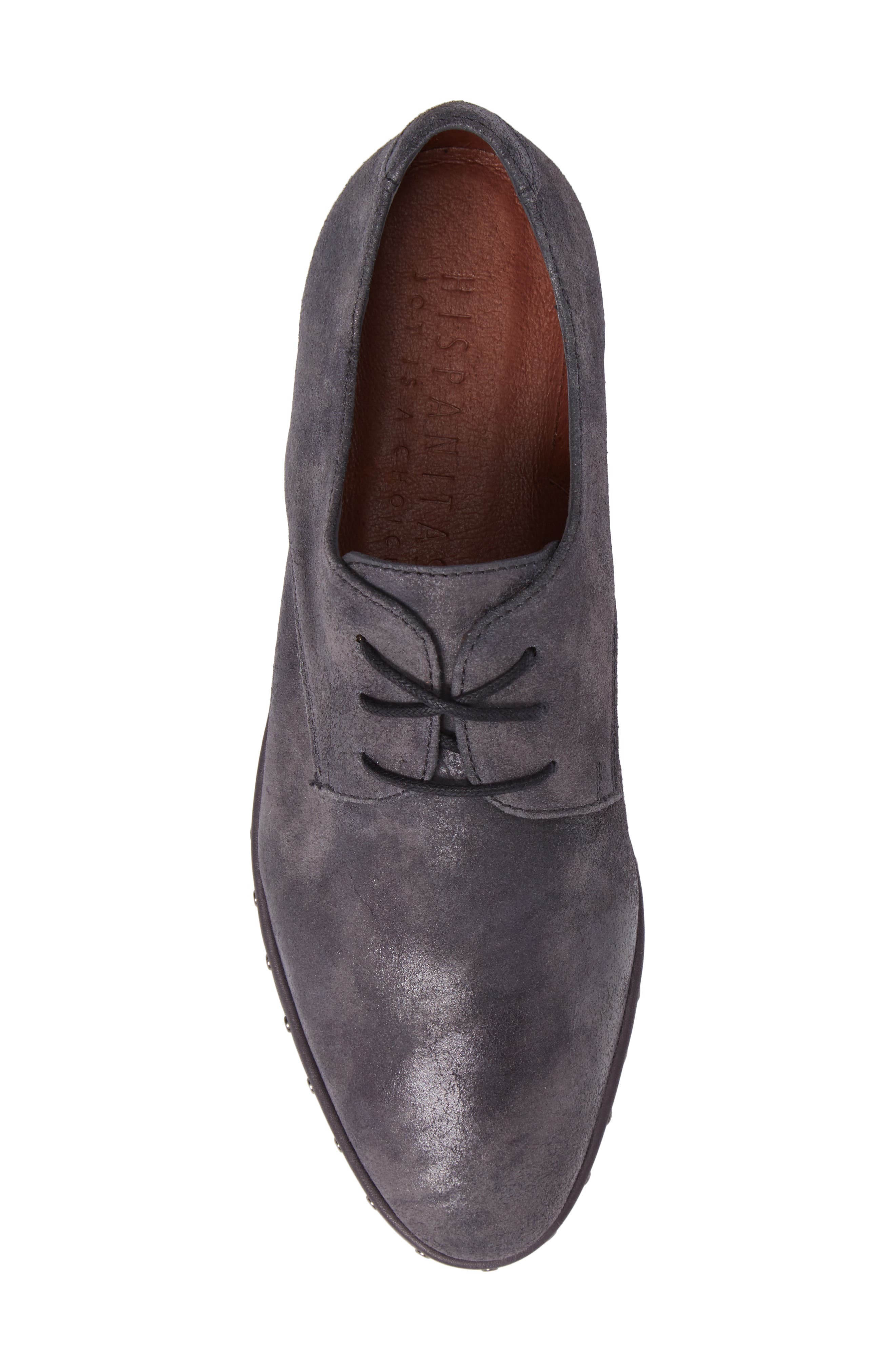 Abbot Oxford,                             Alternate thumbnail 5, color,                             BRUT GREY LEATHER