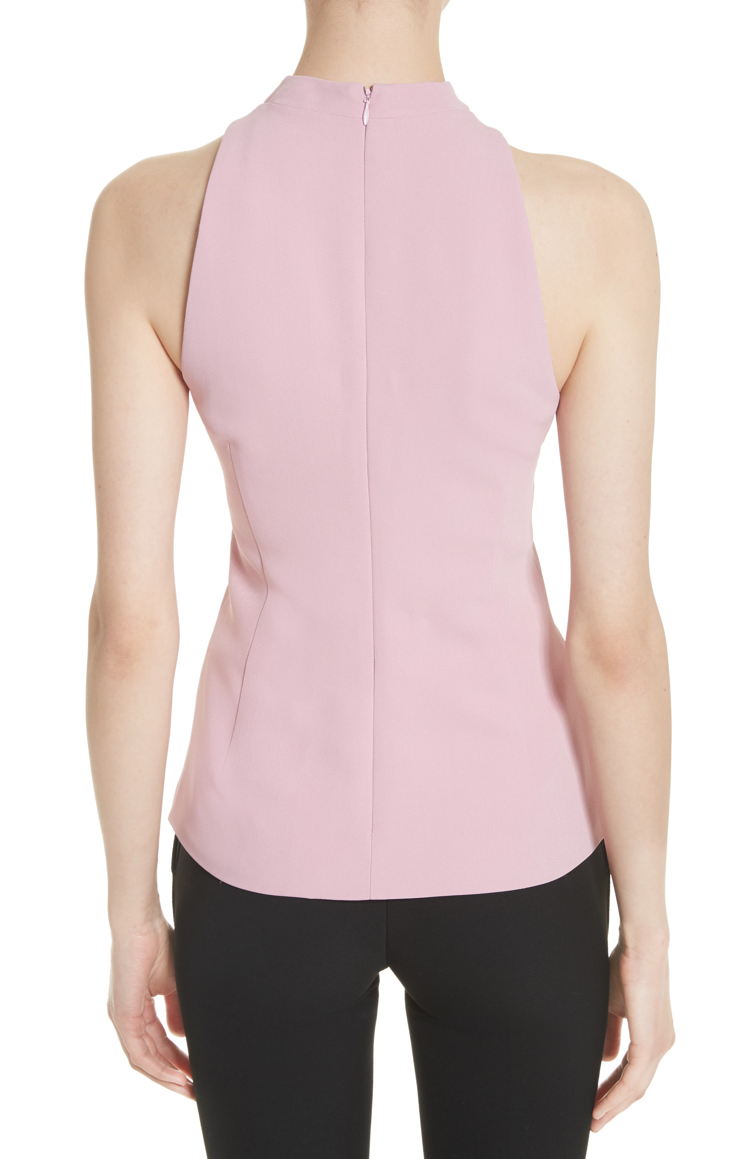 Stretch Cady Choker Top,                             Alternate thumbnail 2, color,                             663