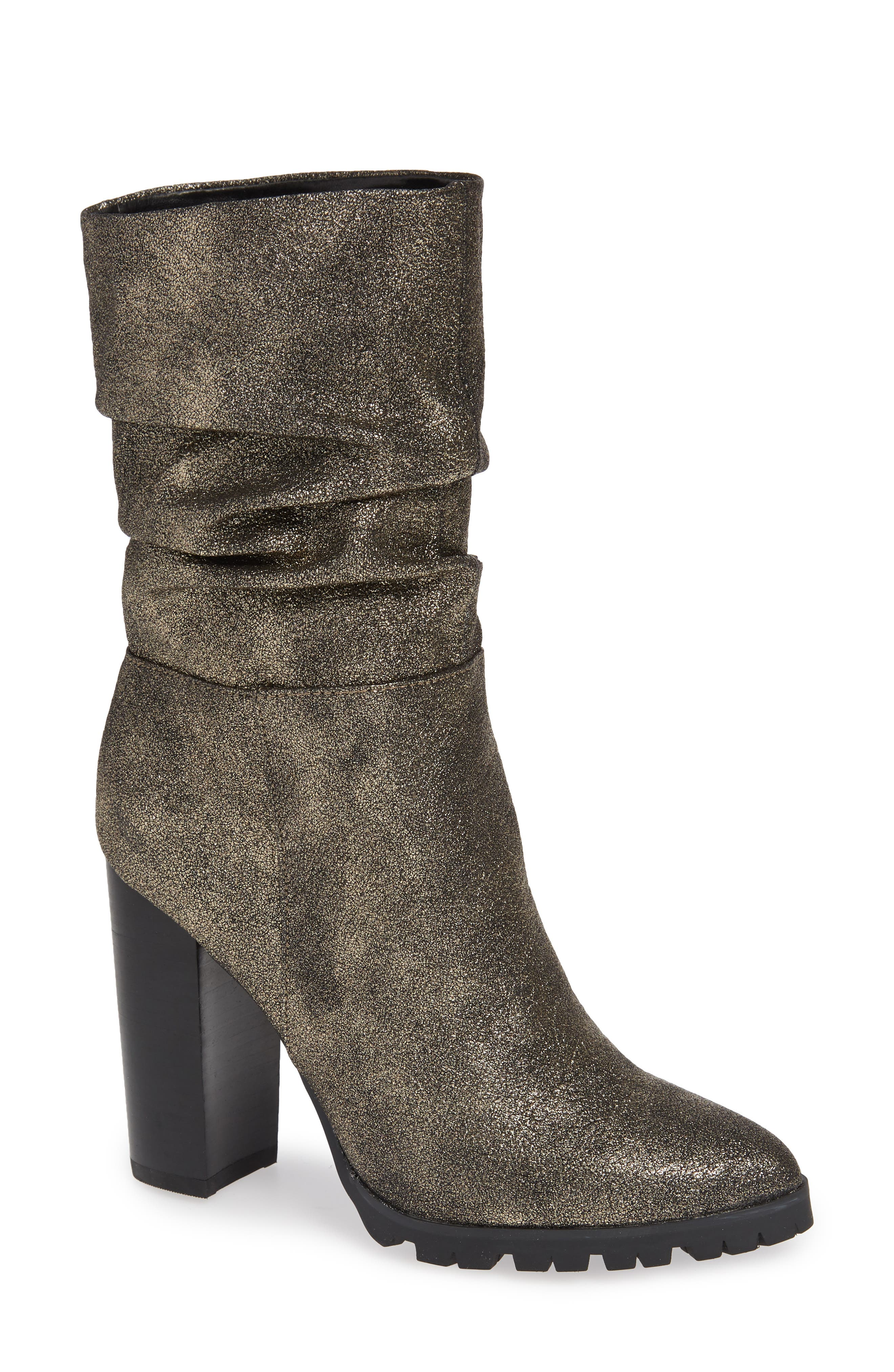 KATY PERRY Slouch Bootie in Gunmetal