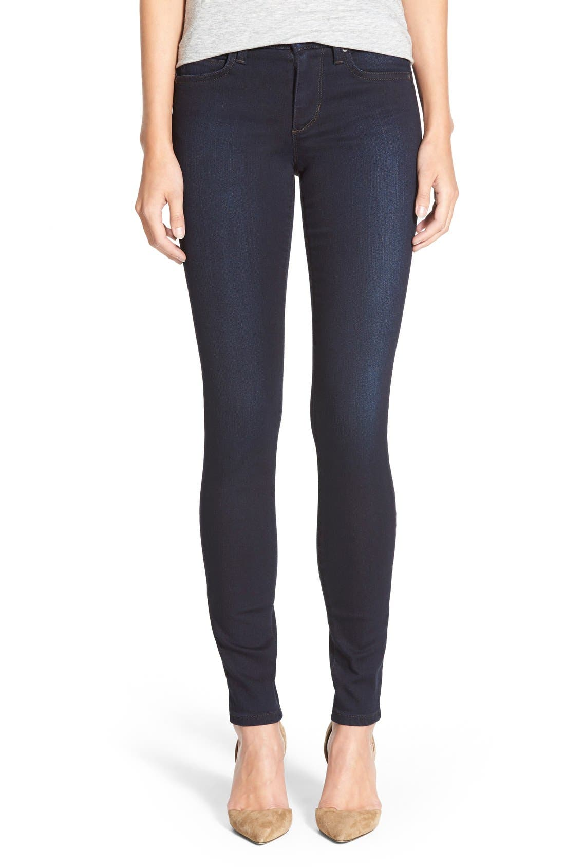 'Flawless - #Hello' Skinny Jeans,                         Main,                         color,
