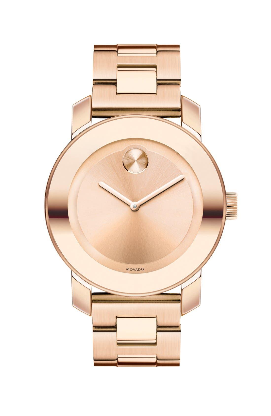 'Bold' Round Bracelet Watch, 36mm,                             Main thumbnail 6, color,