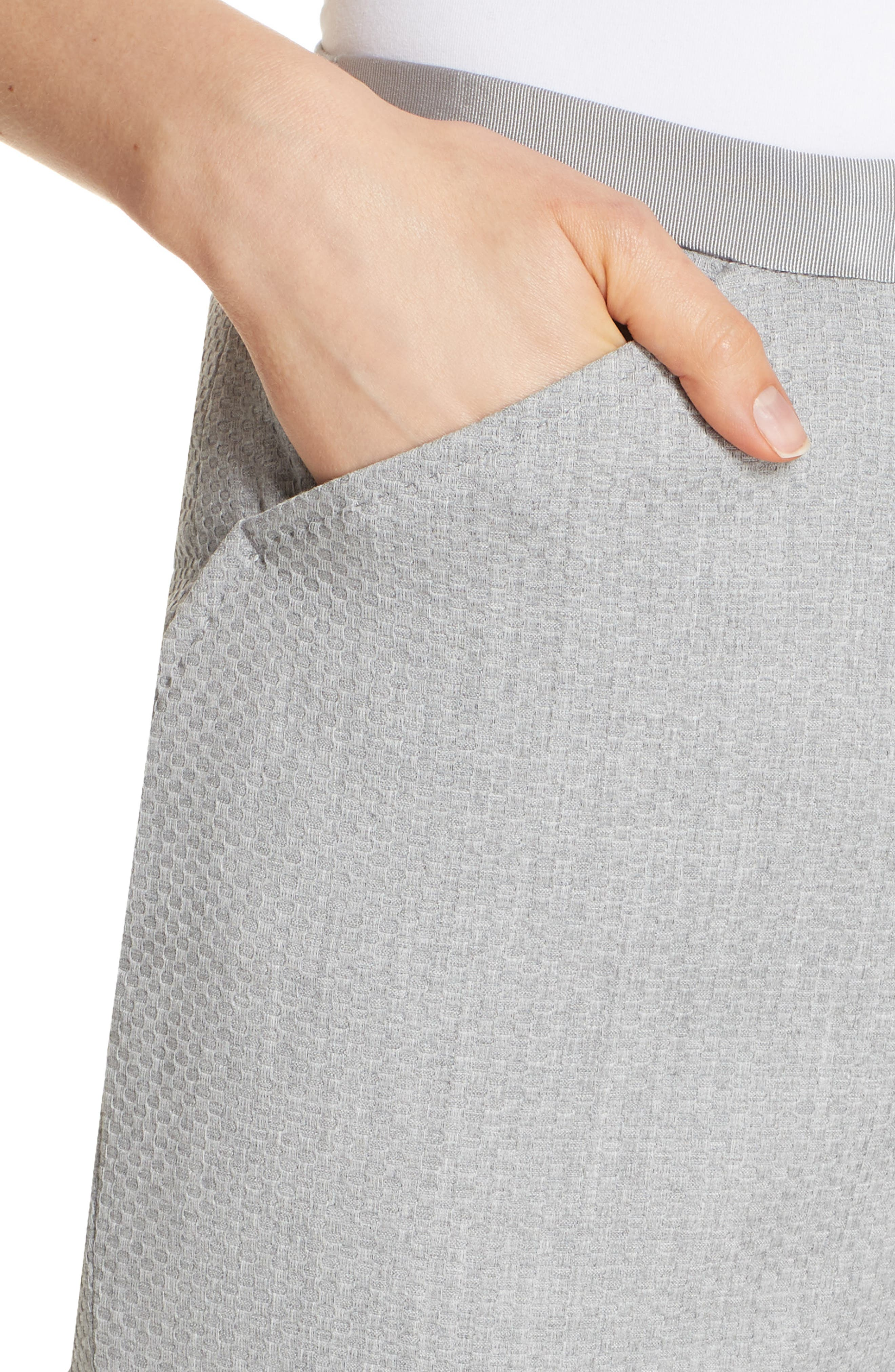 Ted Working Title Daizit Skinny Crop Pants,                             Alternate thumbnail 4, color,                             GREY