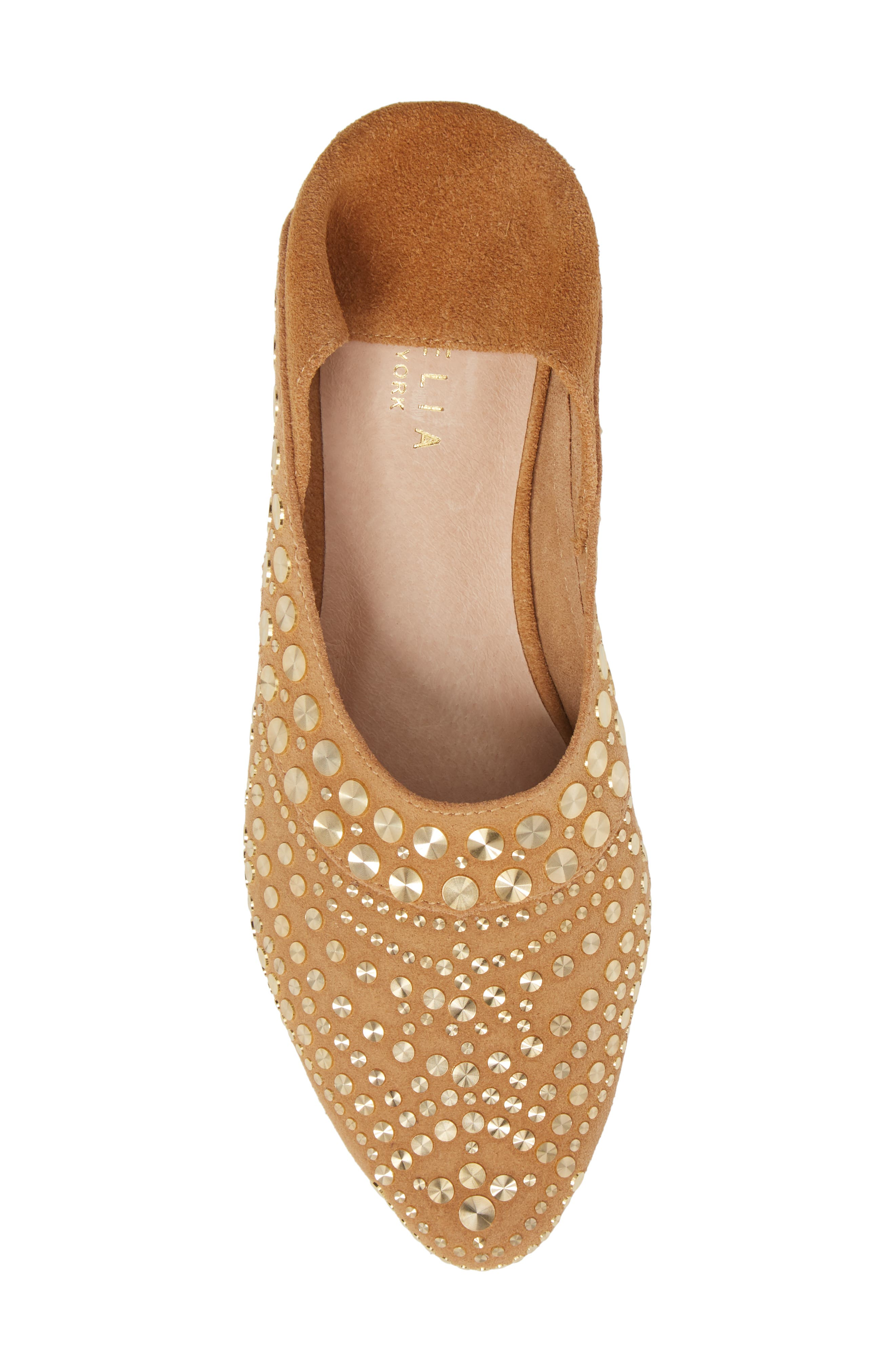 Mojito Convertible Flat,                             Alternate thumbnail 6, color,                             SAND SUEDE