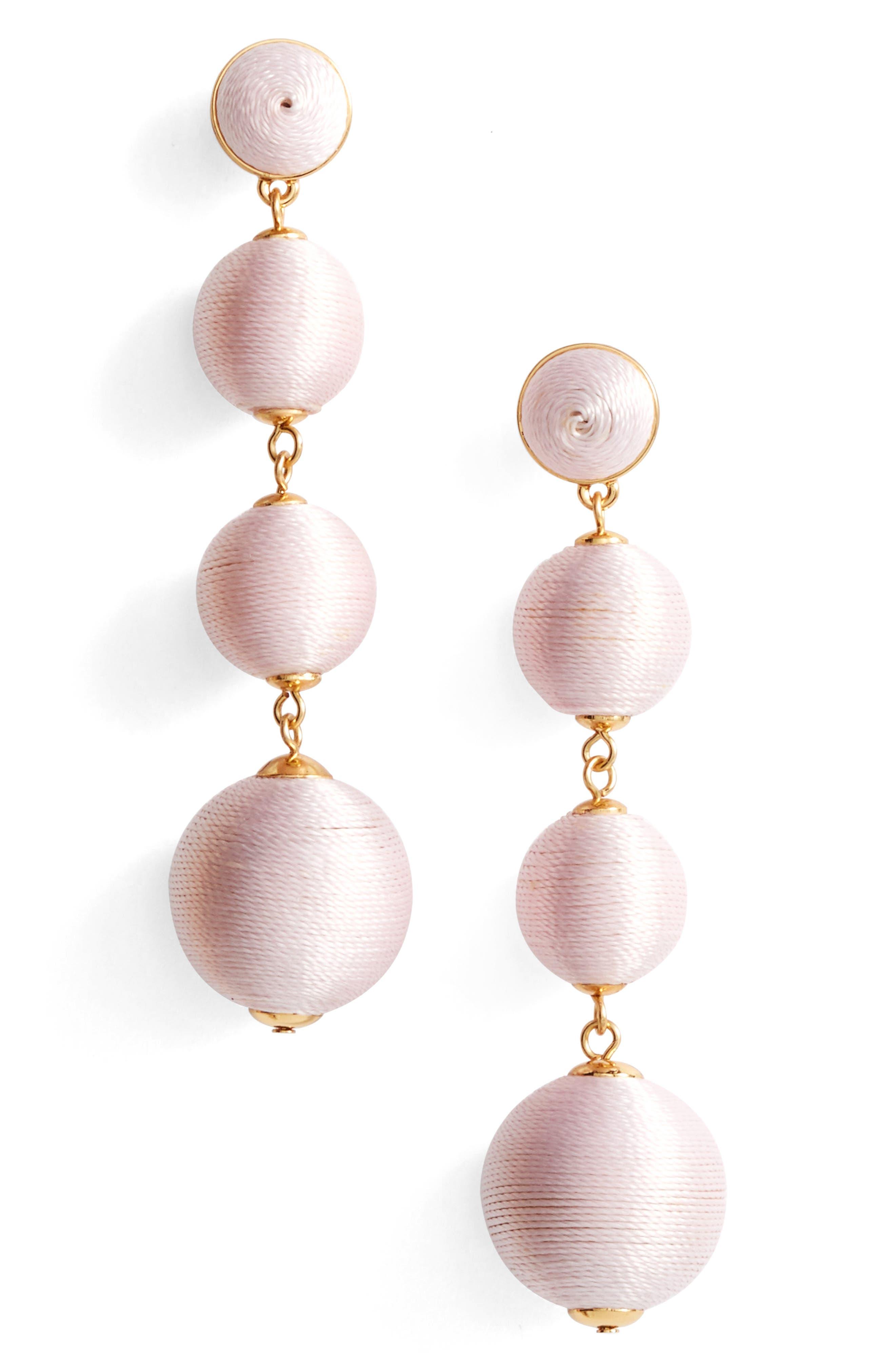 Criselda Ball Shoulder Duster Earrings,                             Main thumbnail 8, color,