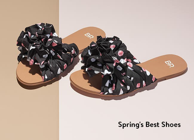 Spring's best shoes.