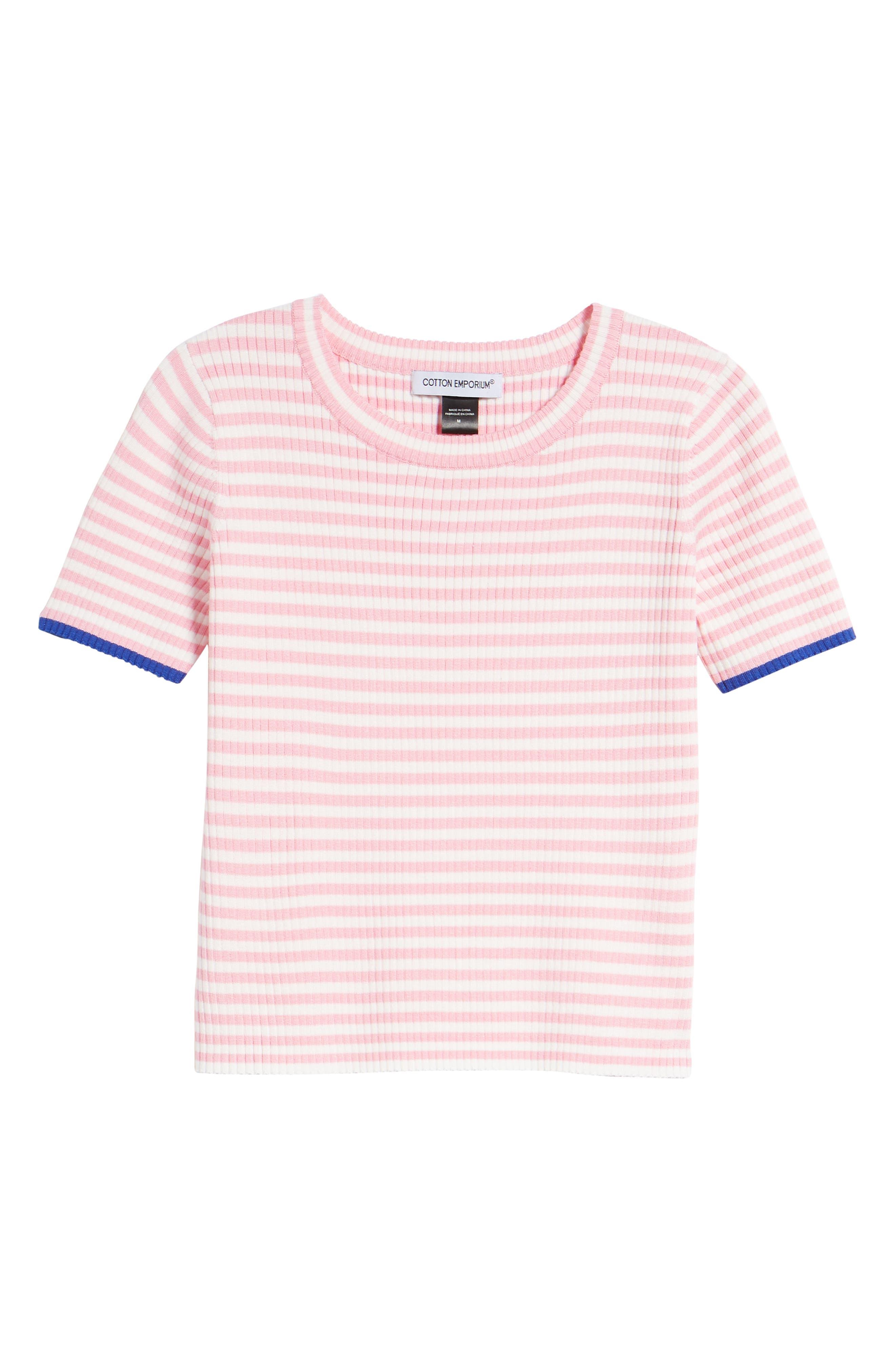 Stripe Knit Pullover,                             Alternate thumbnail 13, color,