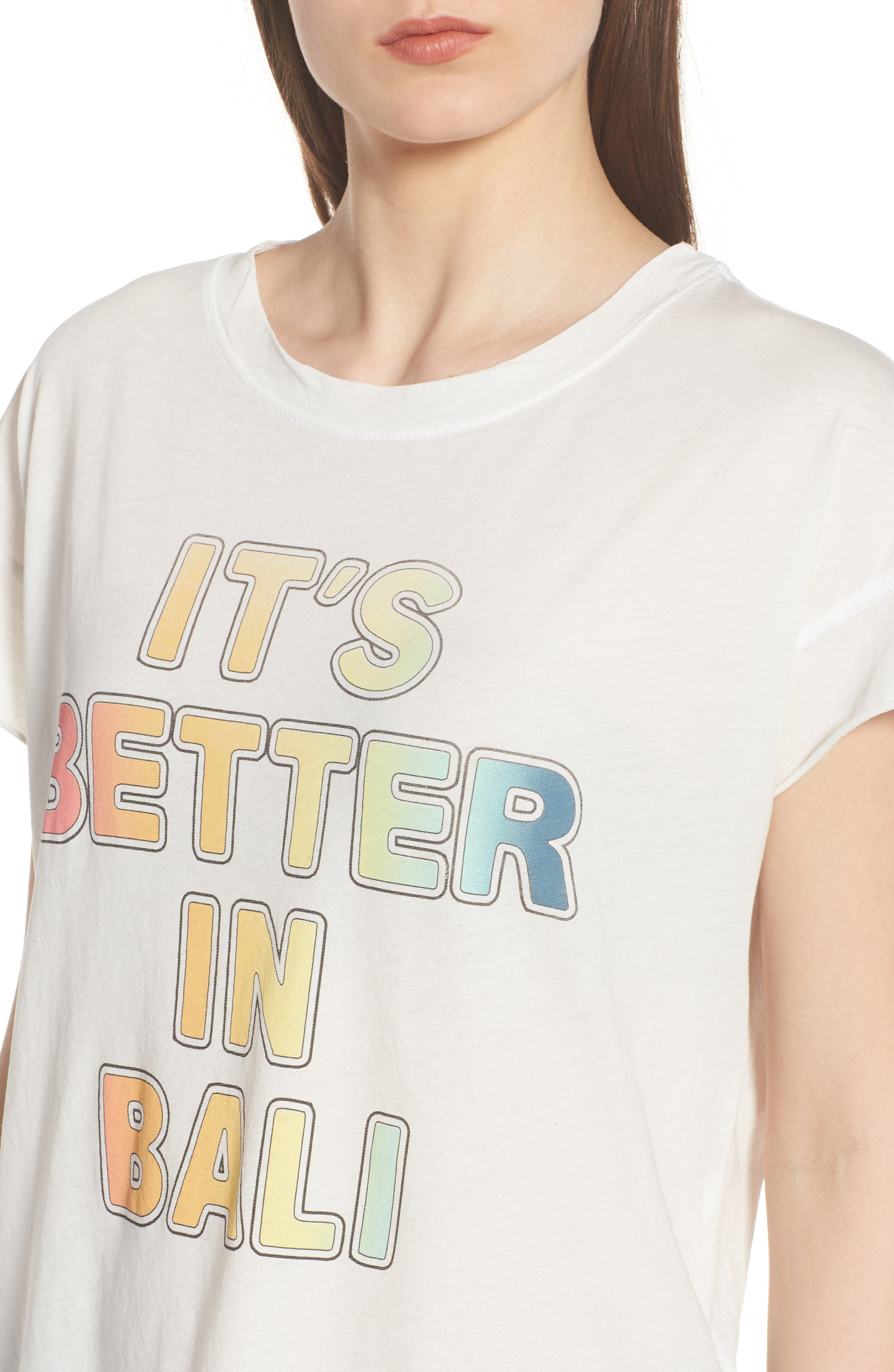 Better in Bali Tee,                             Alternate thumbnail 4, color,