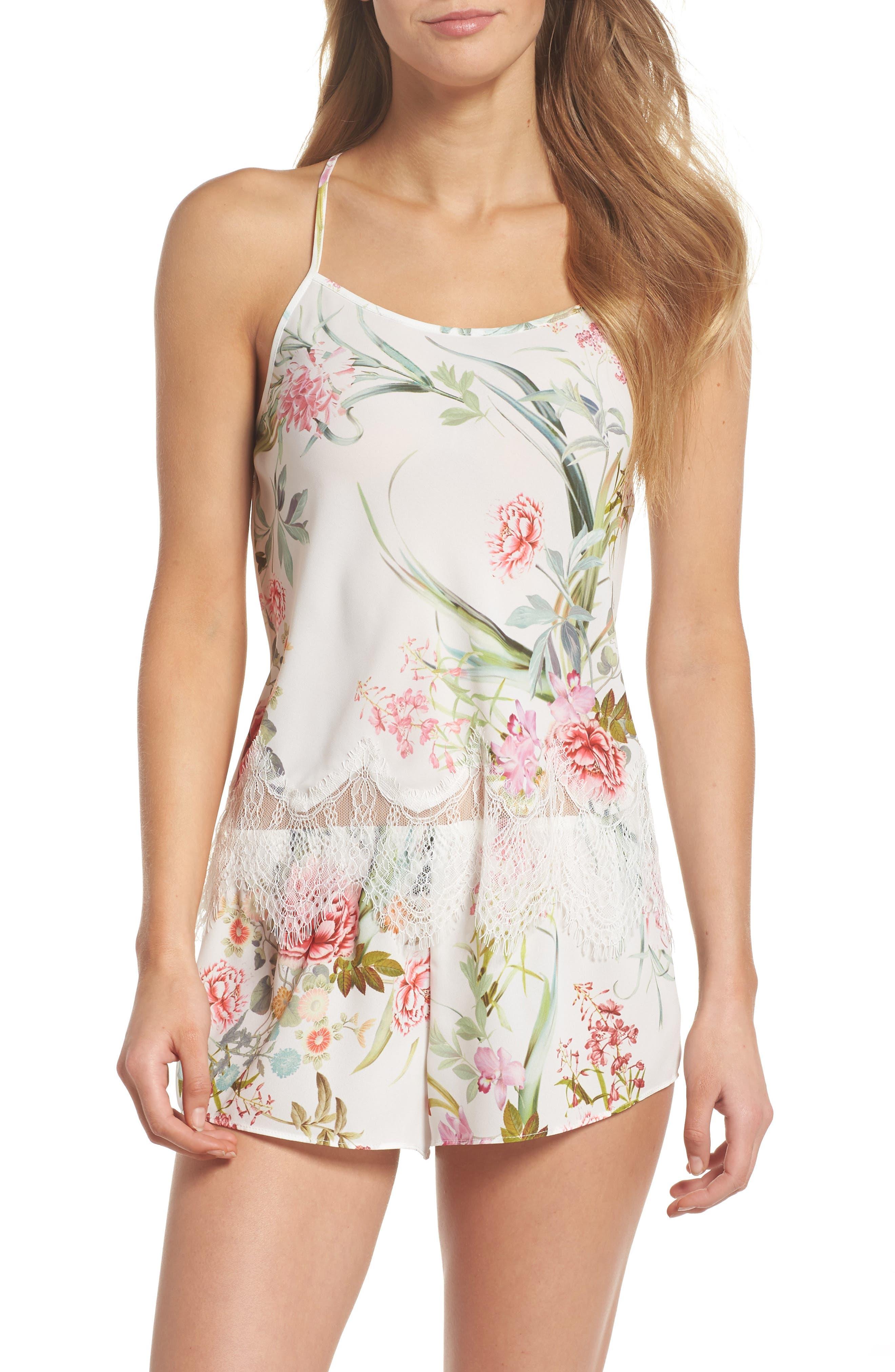 Fiona Crepe Camisole Pajama Set,                         Main,                         color,