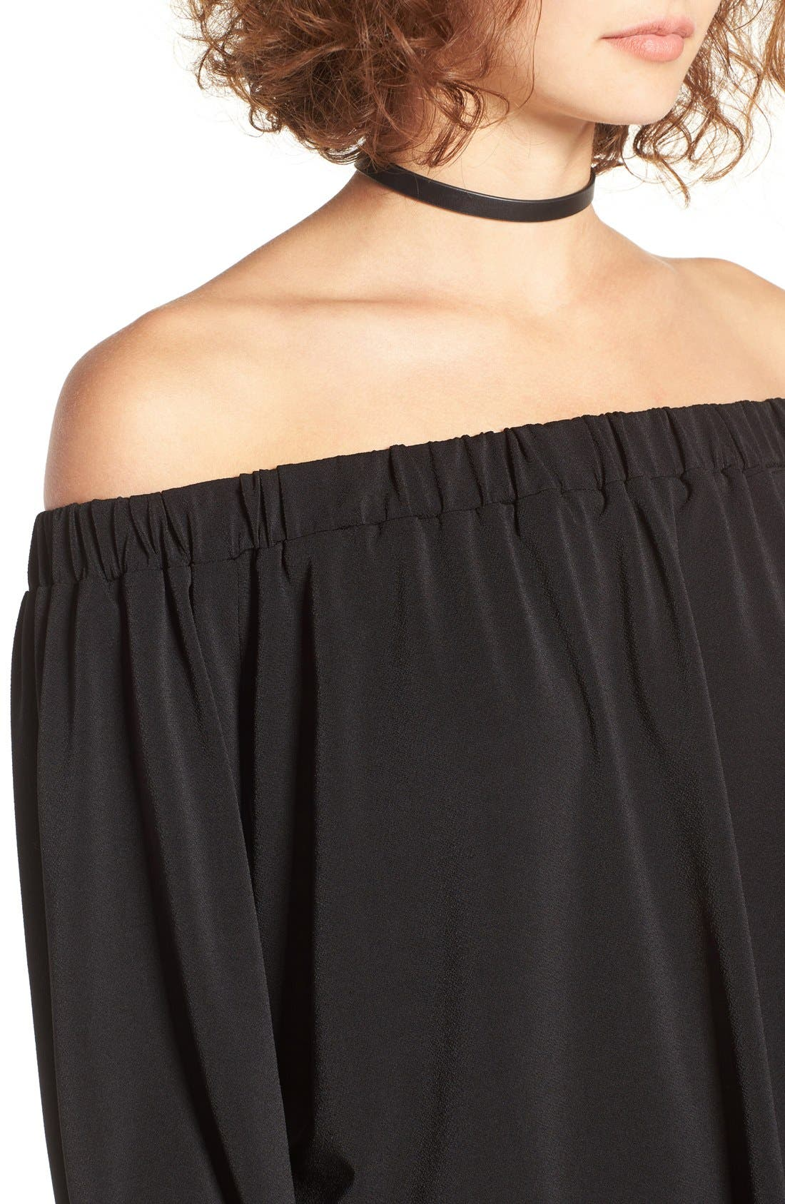 BP.,                             Off the Shoulder Top,                             Alternate thumbnail 3, color,                             001