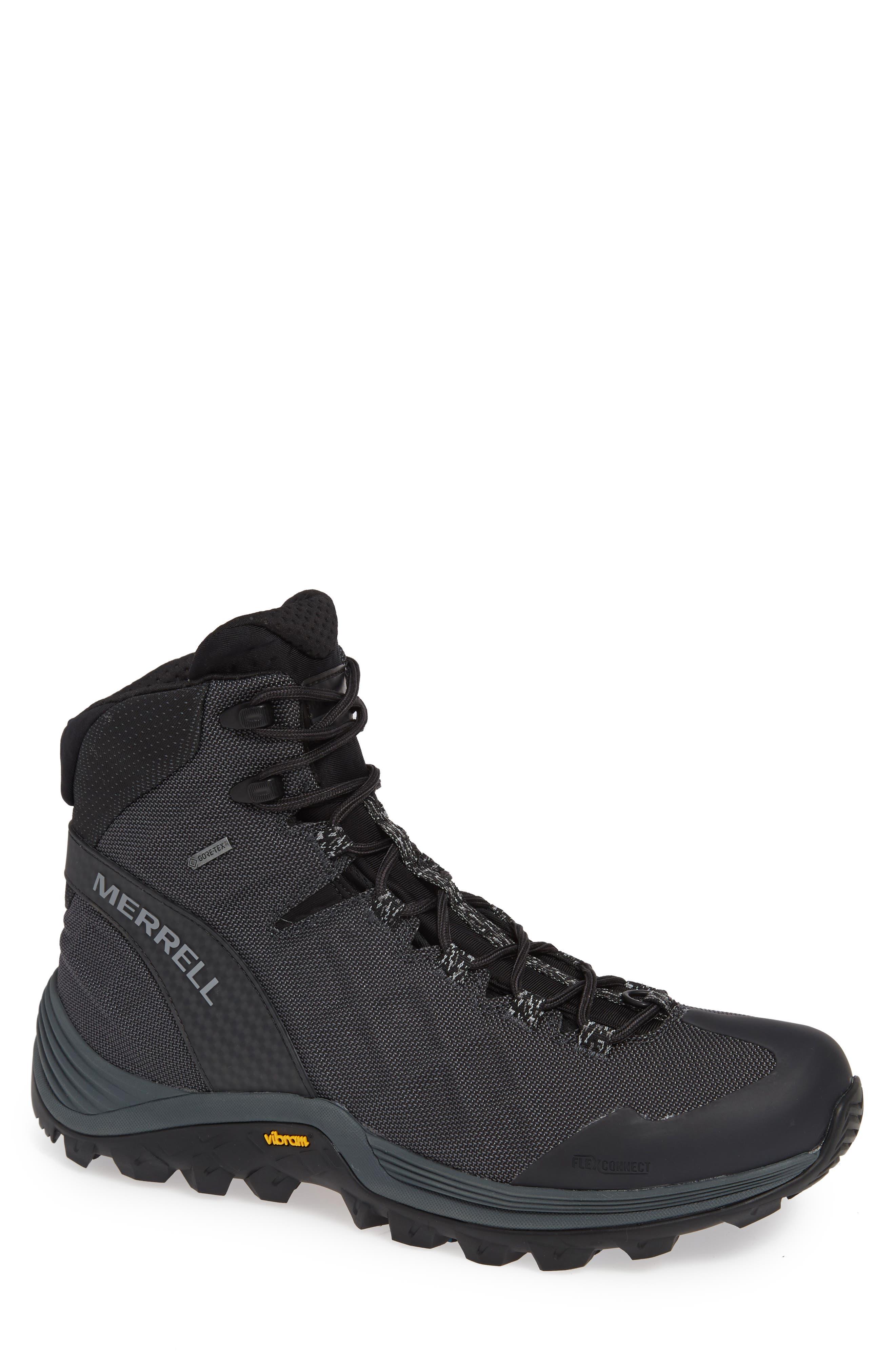 Thermo Rogue Gore-Tex<sup>®</sup> Waterproof Boot,                             Main thumbnail 1, color,                             BLACK