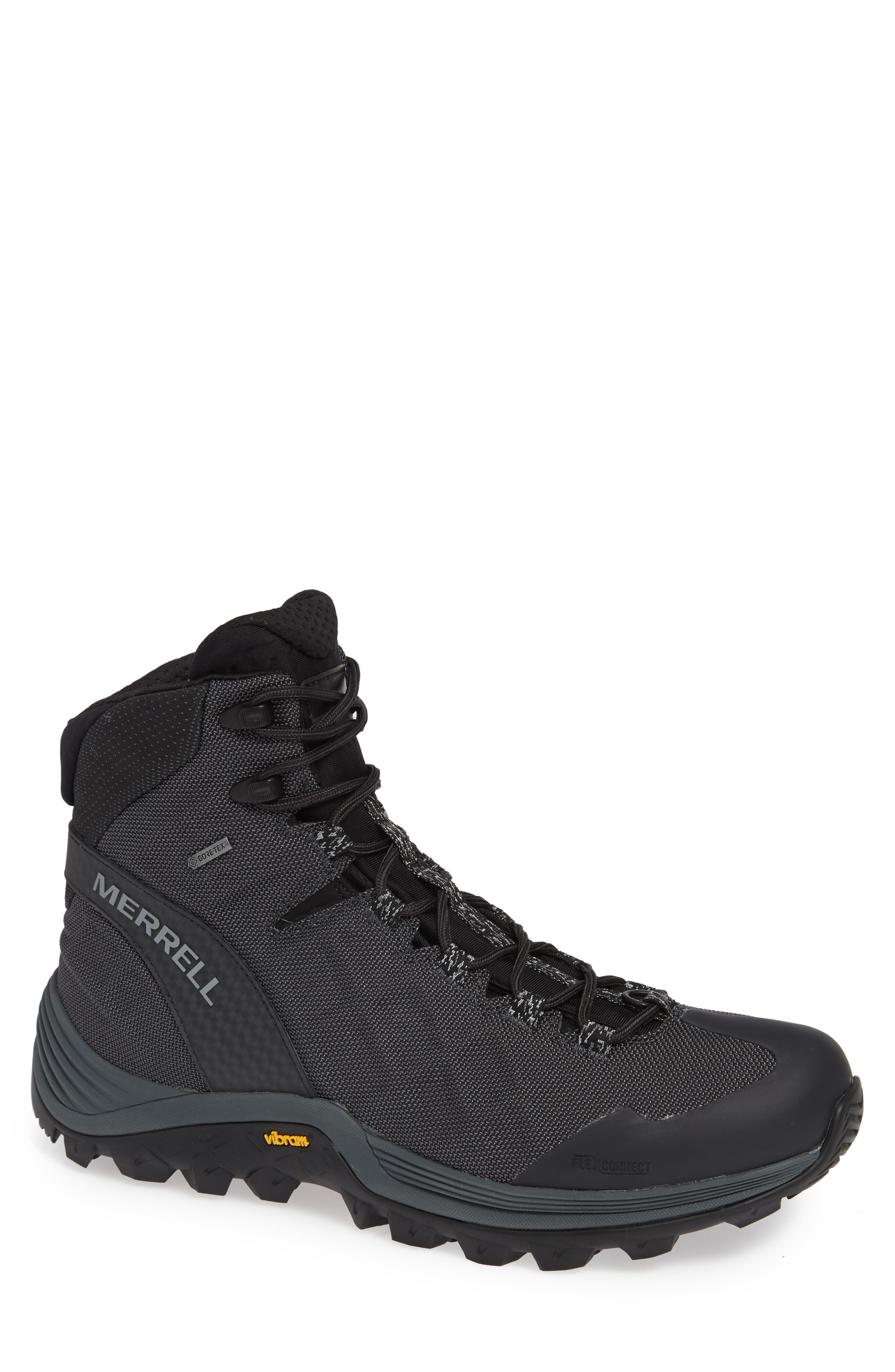 Thermo Rogue Gore-Tex<sup>®</sup> Waterproof Boot,                         Main,                         color, BLACK
