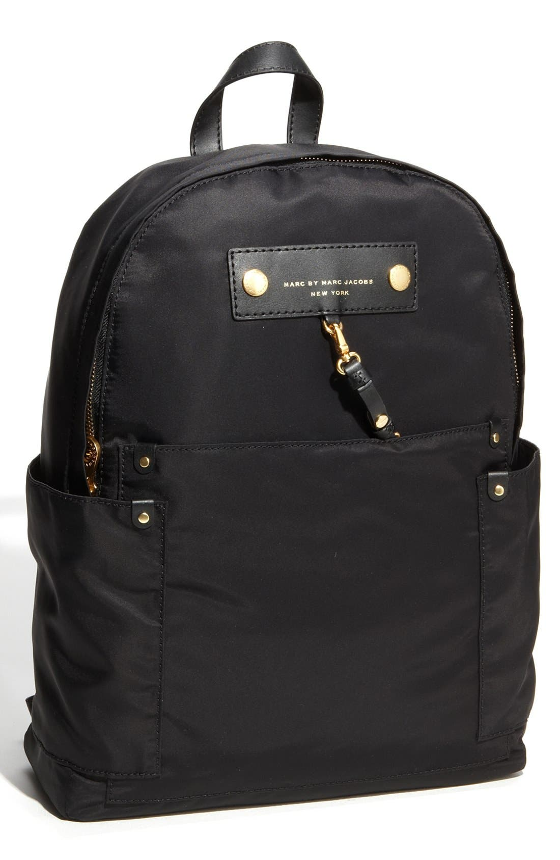 MARC JACOBS,                             MARC BY MARC JACOBS 'Preppy Nylon' Backpack,                             Main thumbnail 1, color,                             002