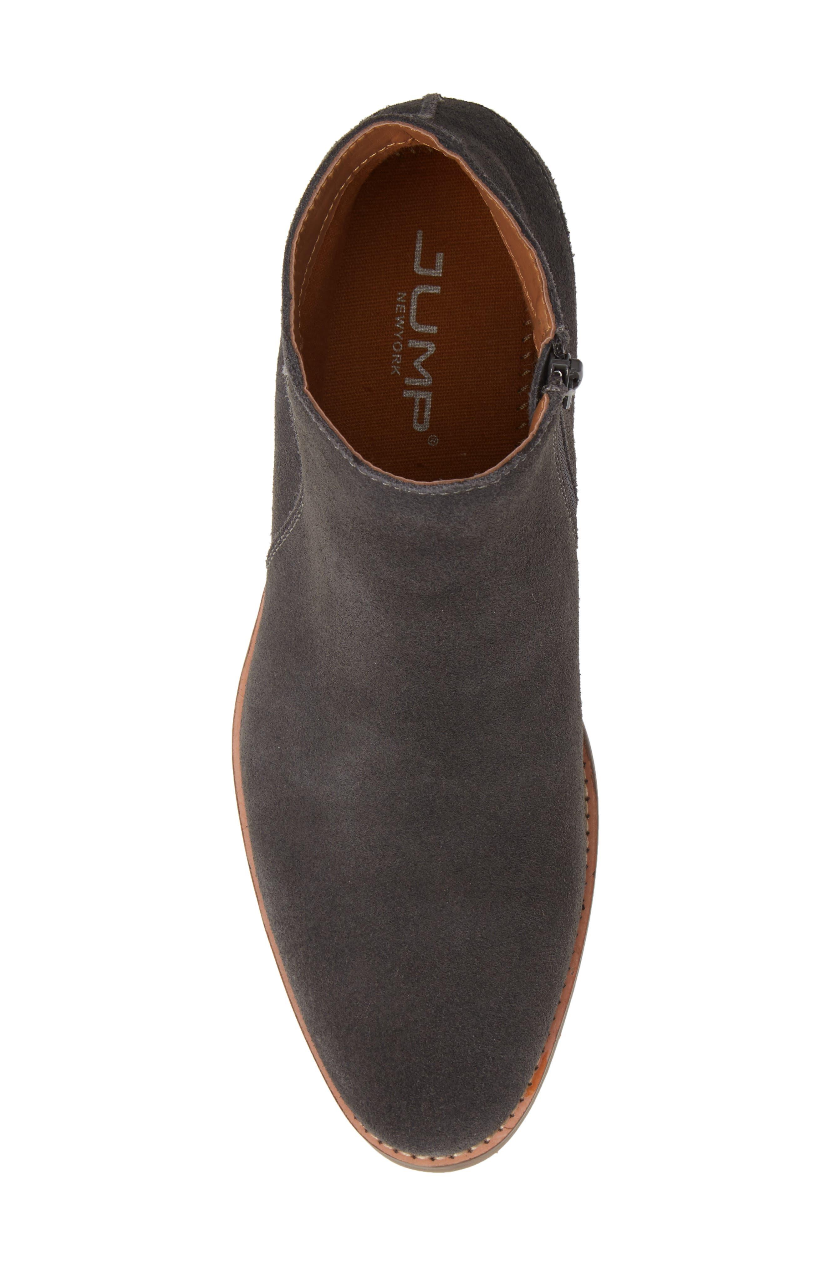 Brighton Chelsea Zip Boot,                             Alternate thumbnail 5, color,                             GREY