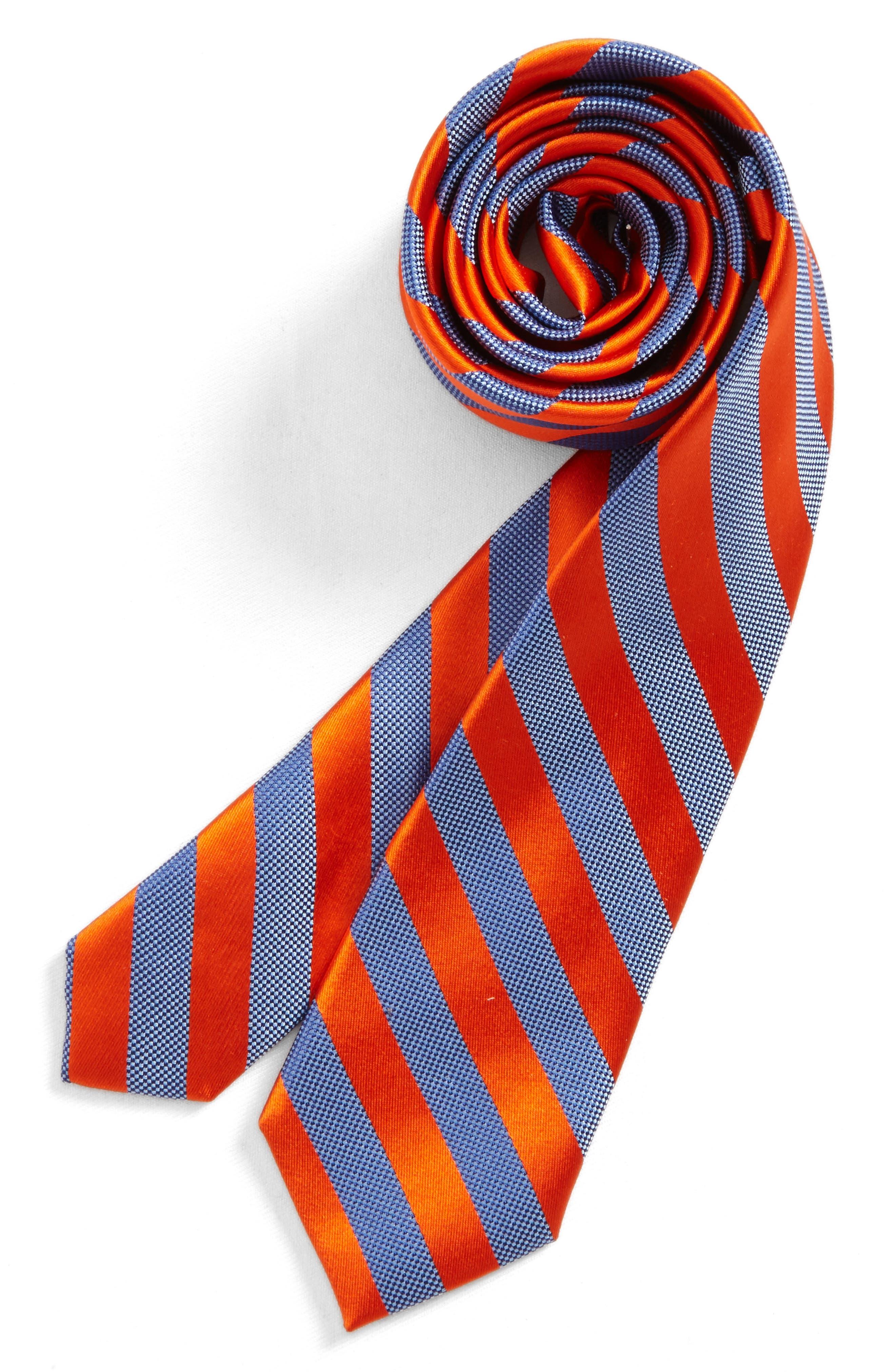 Stripe Silk Tie,                             Main thumbnail 6, color,