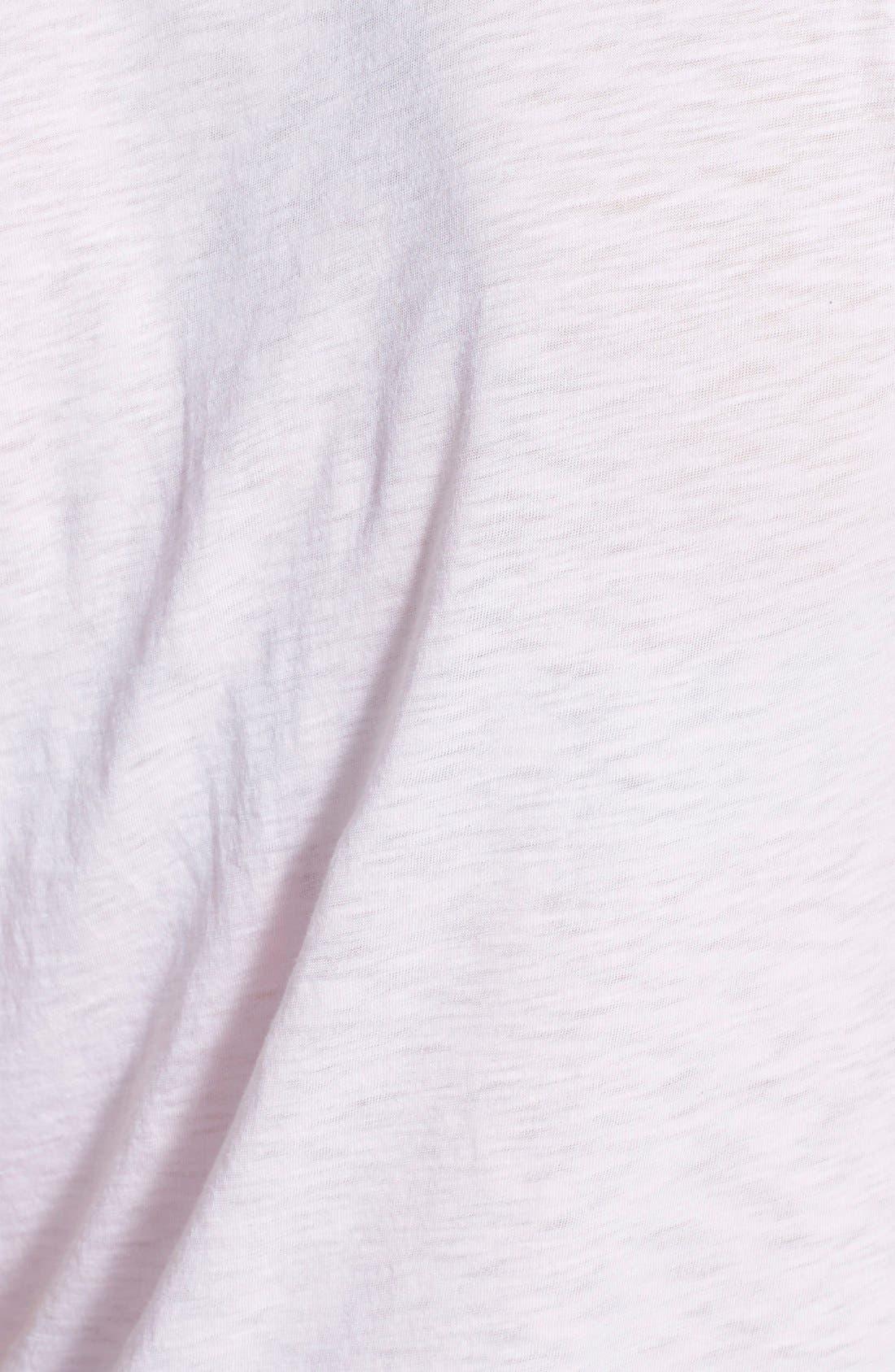 Knot Detail Slub Knit Tee,                             Alternate thumbnail 25, color,