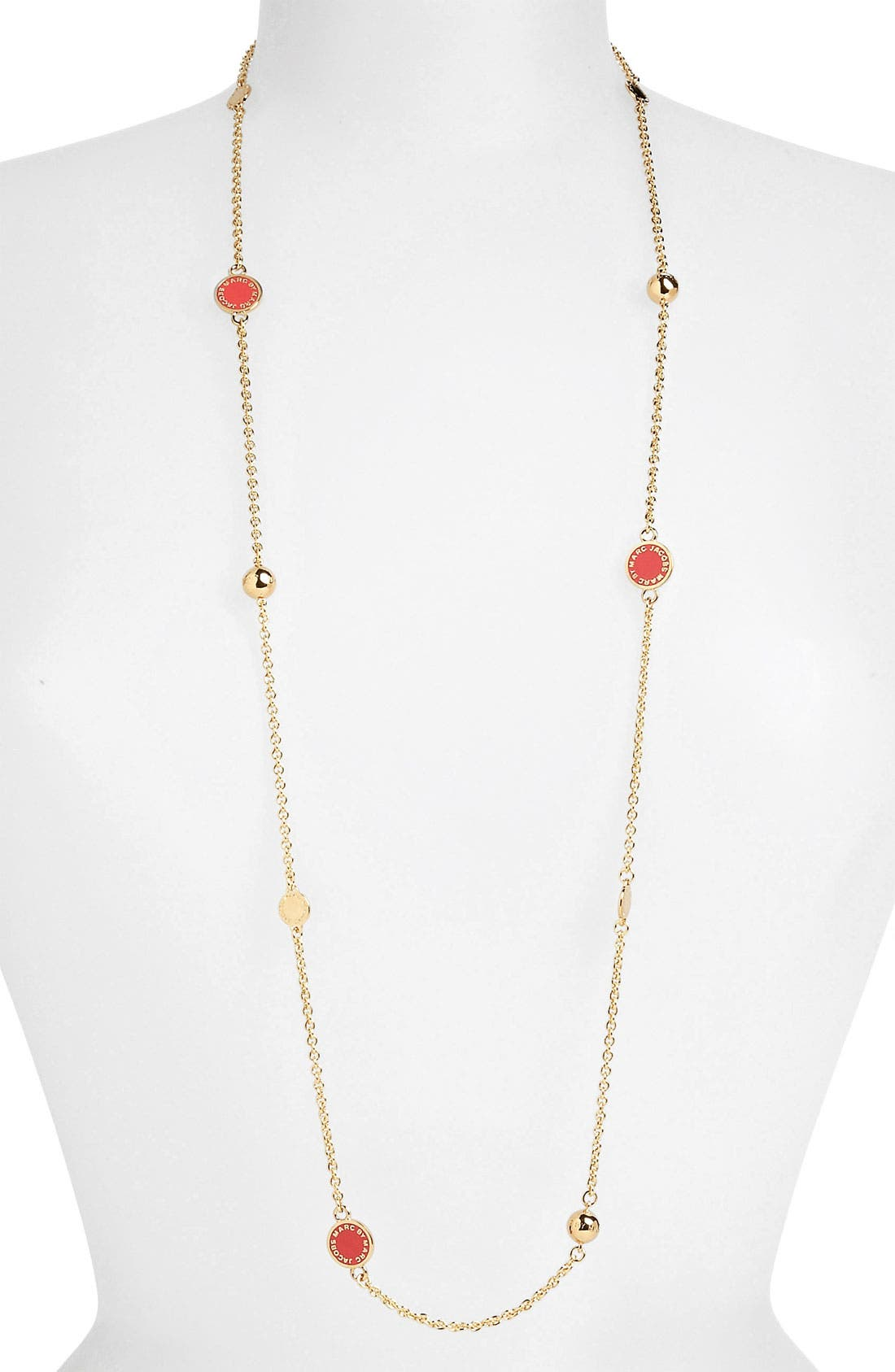 'Classic Marc' Long Necklace,                             Main thumbnail 9, color,
