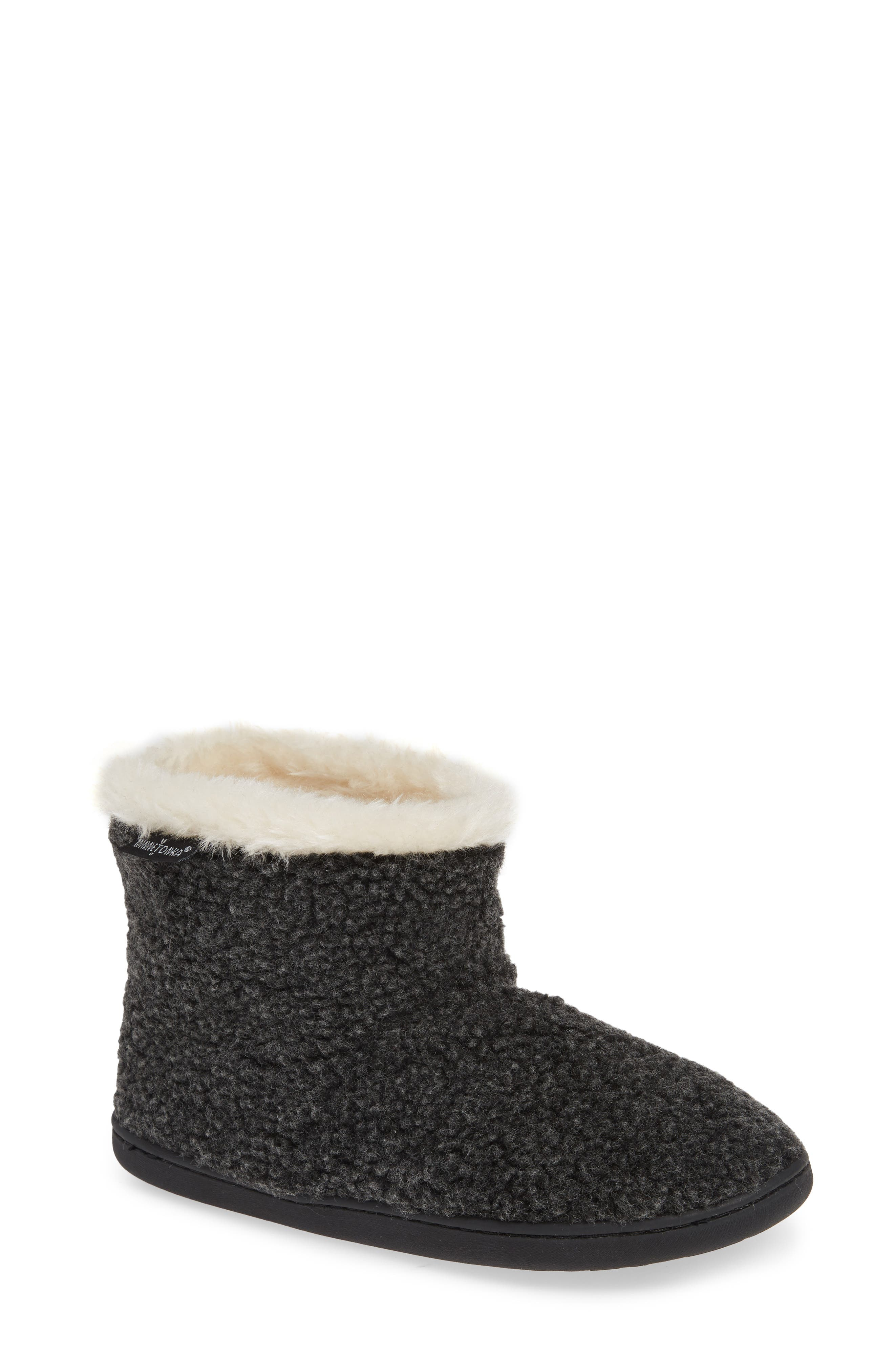 Betty Bootie,                             Main thumbnail 1, color,                             CHARCOAL BERBER