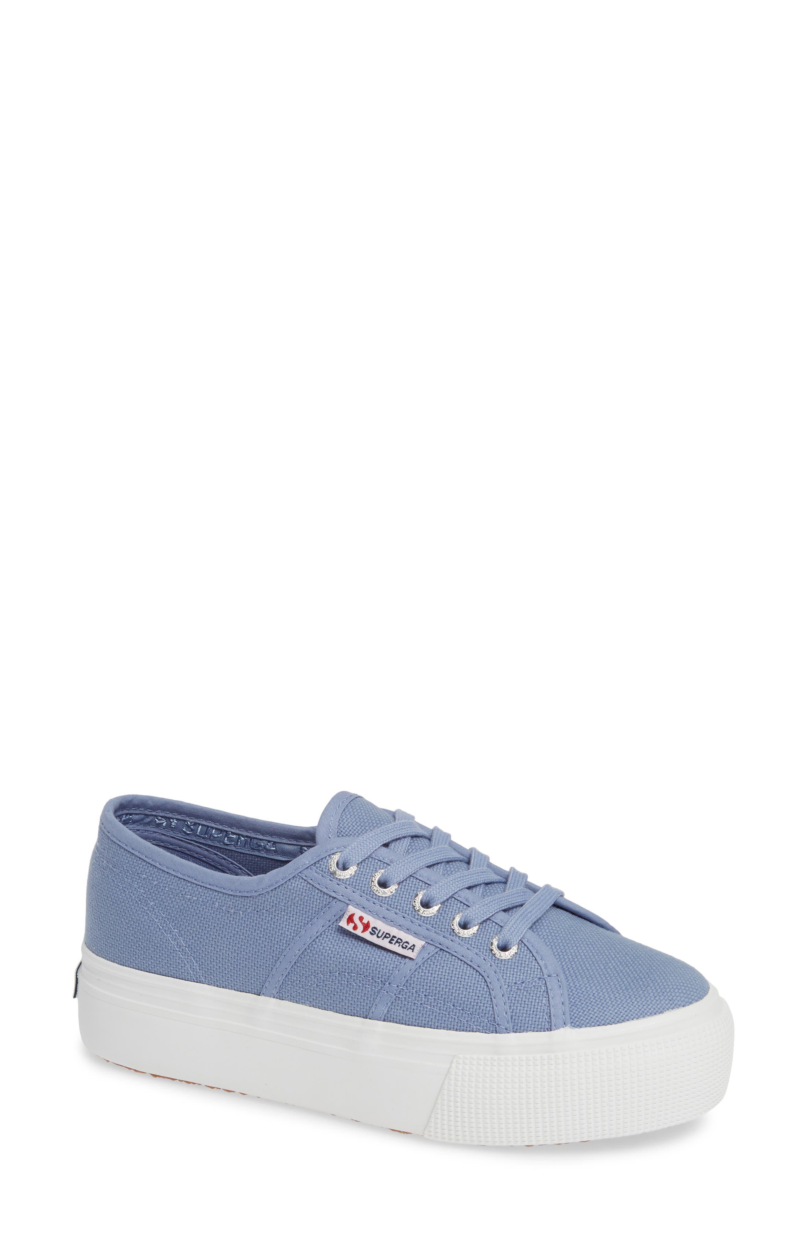 'Acot Linea' Sneaker,                             Main thumbnail 1, color,                             BLUE/ LIGHT PURPLE
