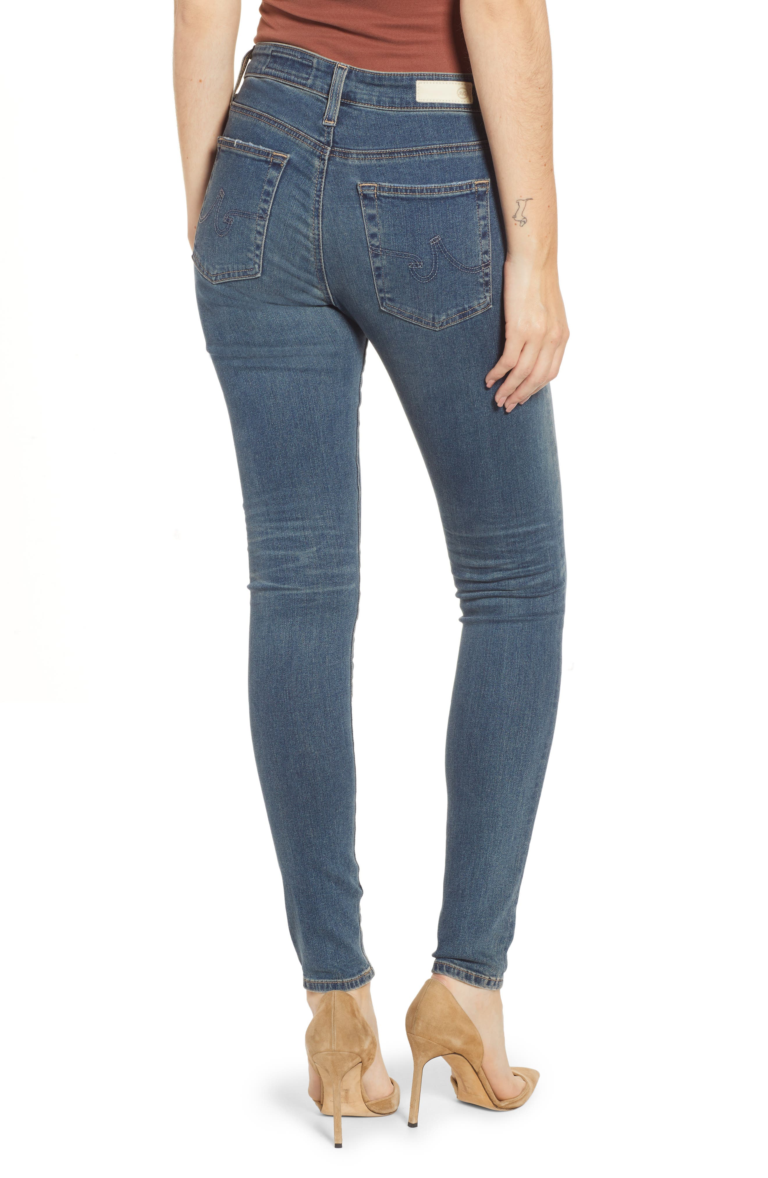 The Farrah High Waist Skinny Jeans,                             Alternate thumbnail 2, color,                             12Y TENACIOUS