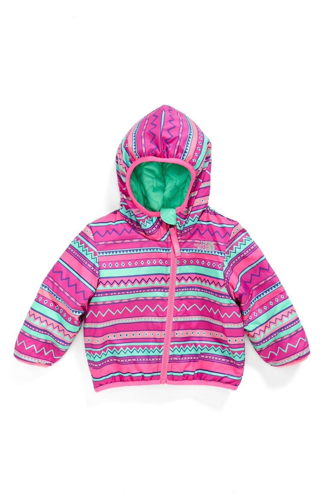 'Perrito' Reversible Water Repellent Hooded Jacket,                             Alternate thumbnail 8, color,