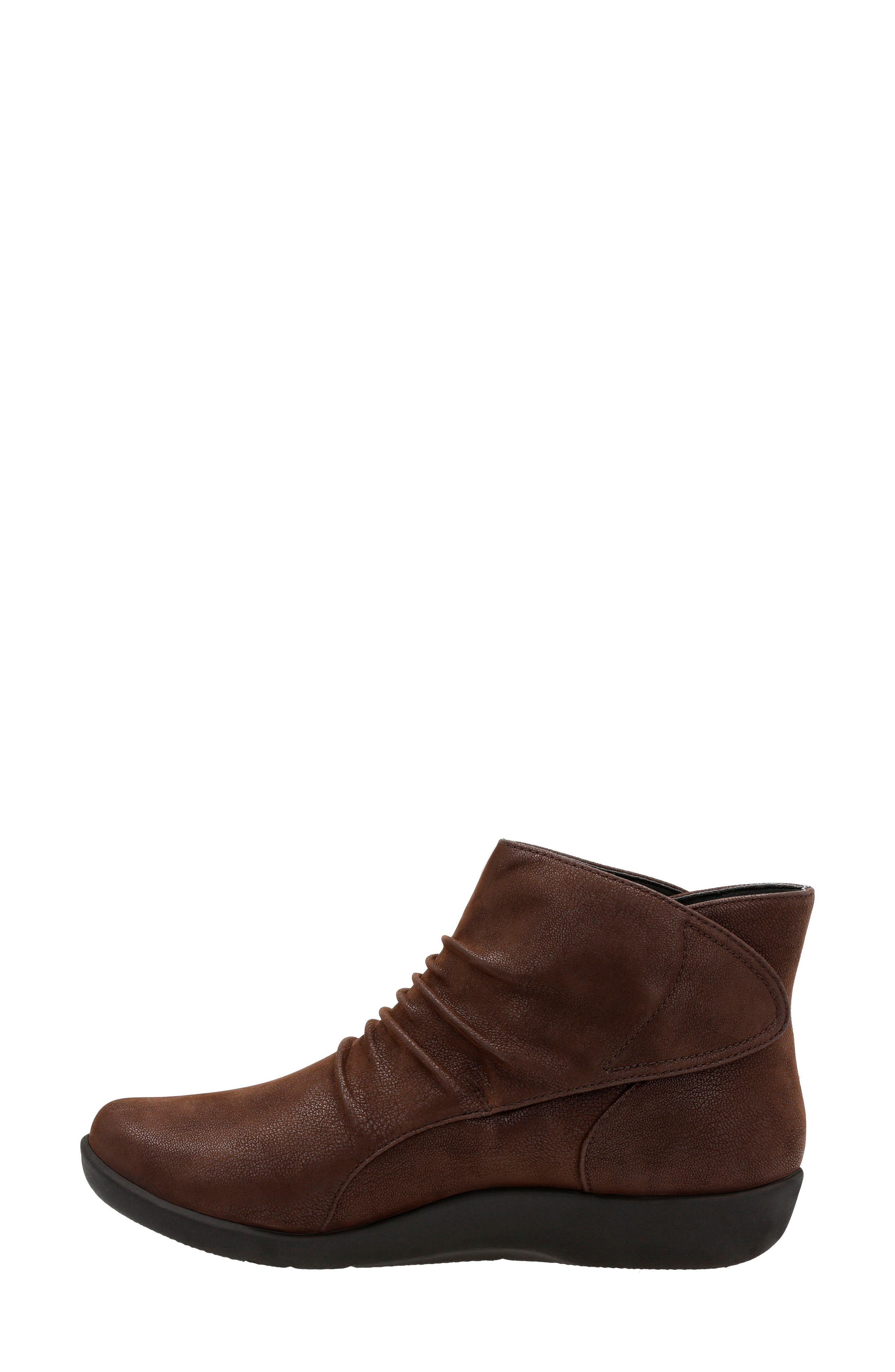 Sillian Sway Boot,                             Alternate thumbnail 2, color,                             BROWN FABRIC