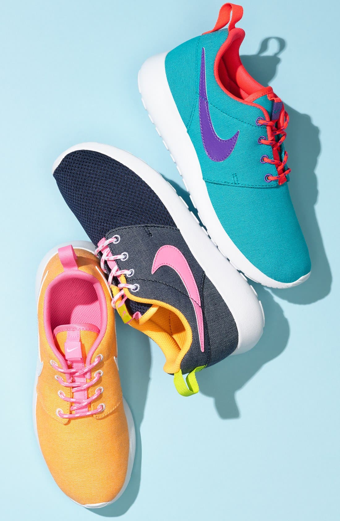 'Roshe Run' Athletic Shoe,                             Alternate thumbnail 2, color,                             010