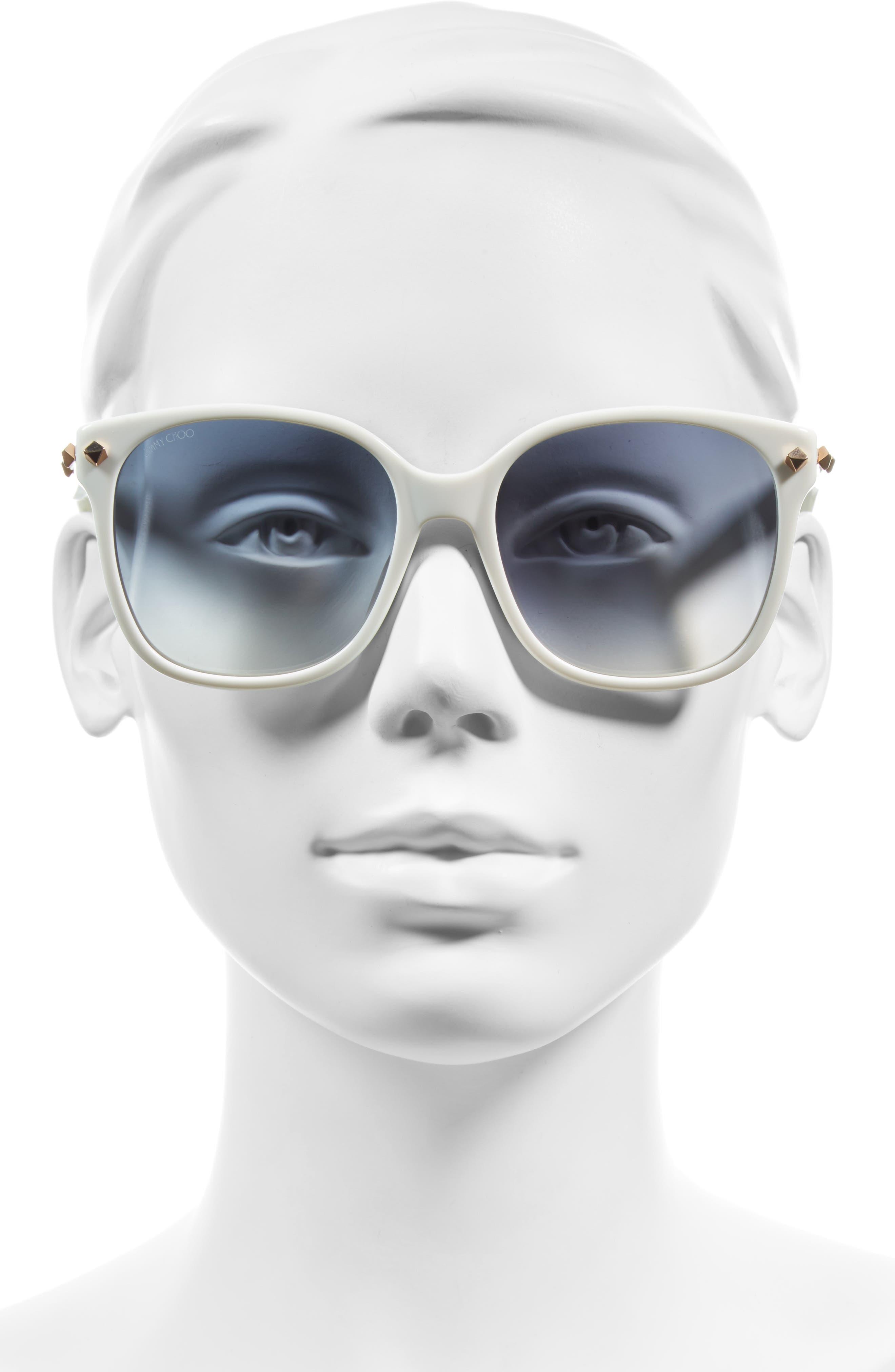 Demas 56mm Sunglasses,                             Alternate thumbnail 5, color,