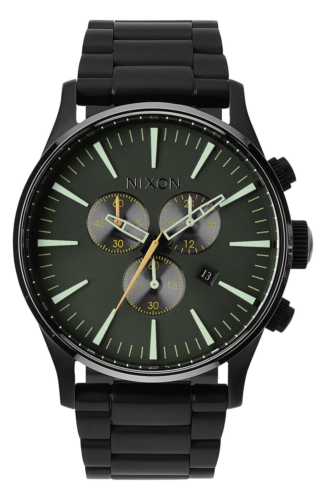 'The Sentry' Chronograph Bracelet Watch, 42mm,                             Main thumbnail 11, color,