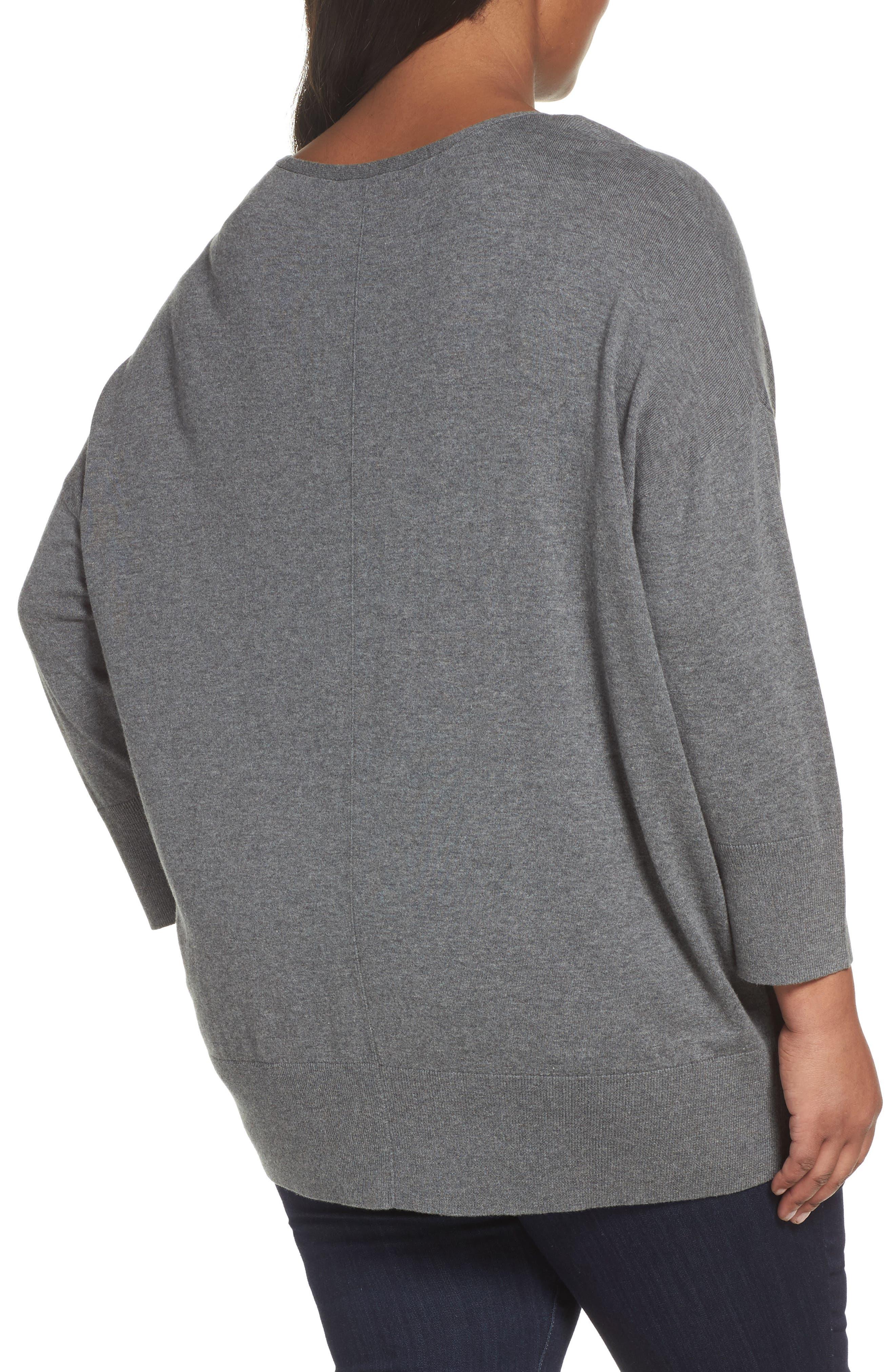 Dolman Sleeve Sweater,                             Alternate thumbnail 5, color,