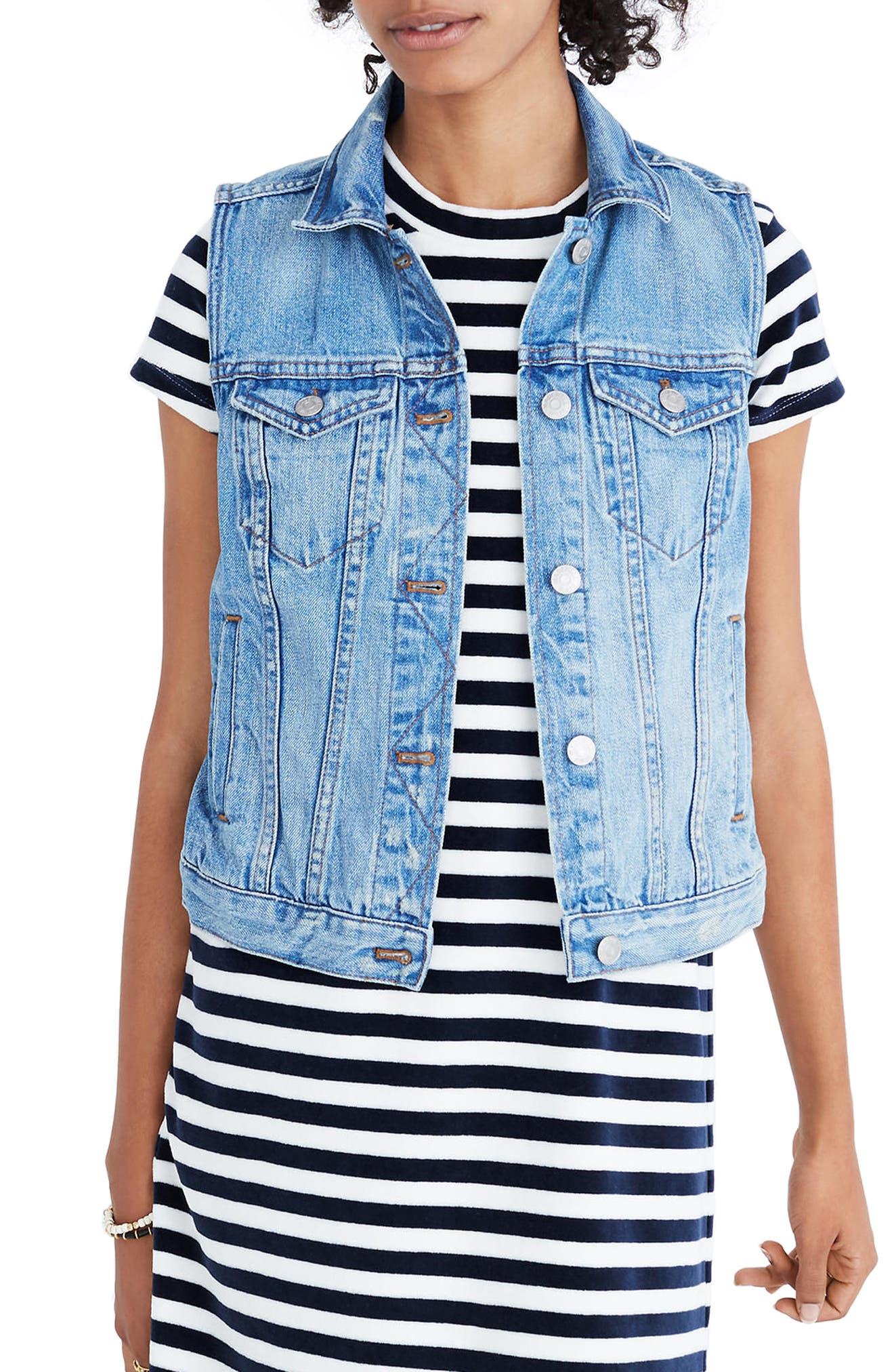 The Jean Vest,                         Main,                         color,