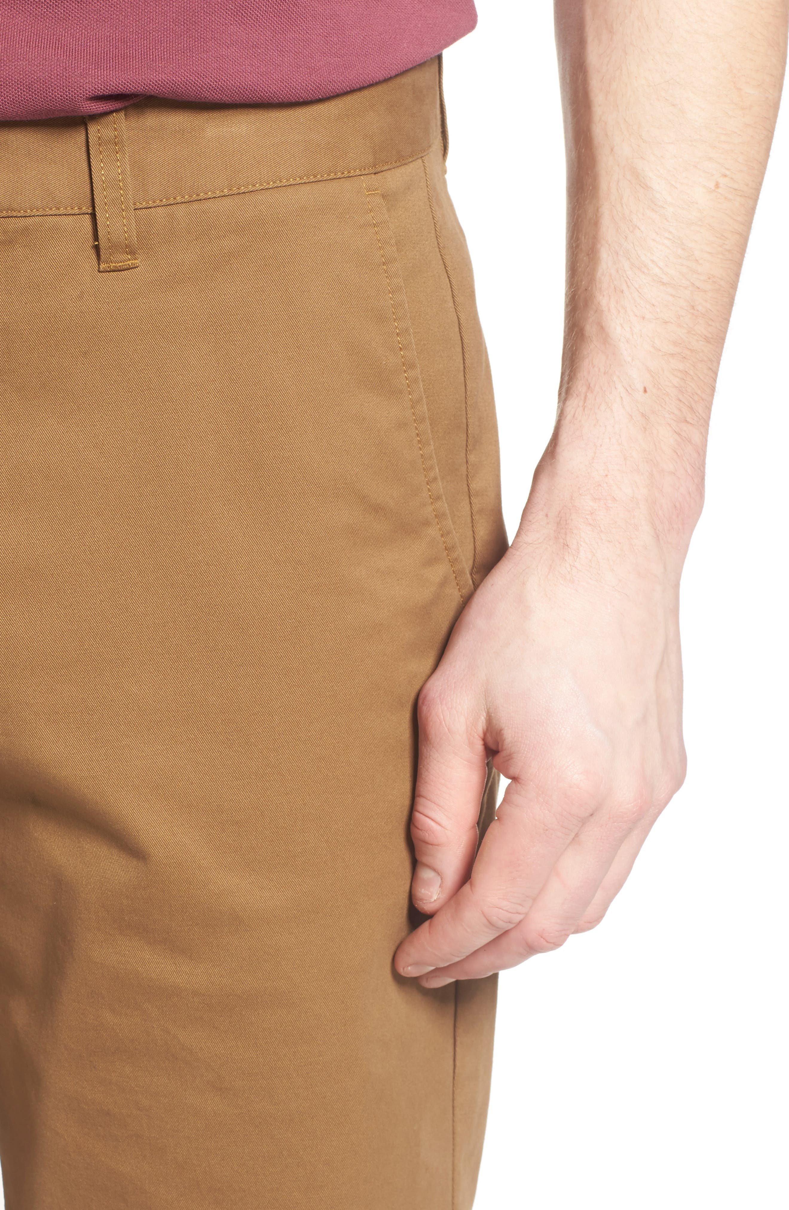 Stretch Washed Chino 11-Inch Shorts,                             Alternate thumbnail 79, color,