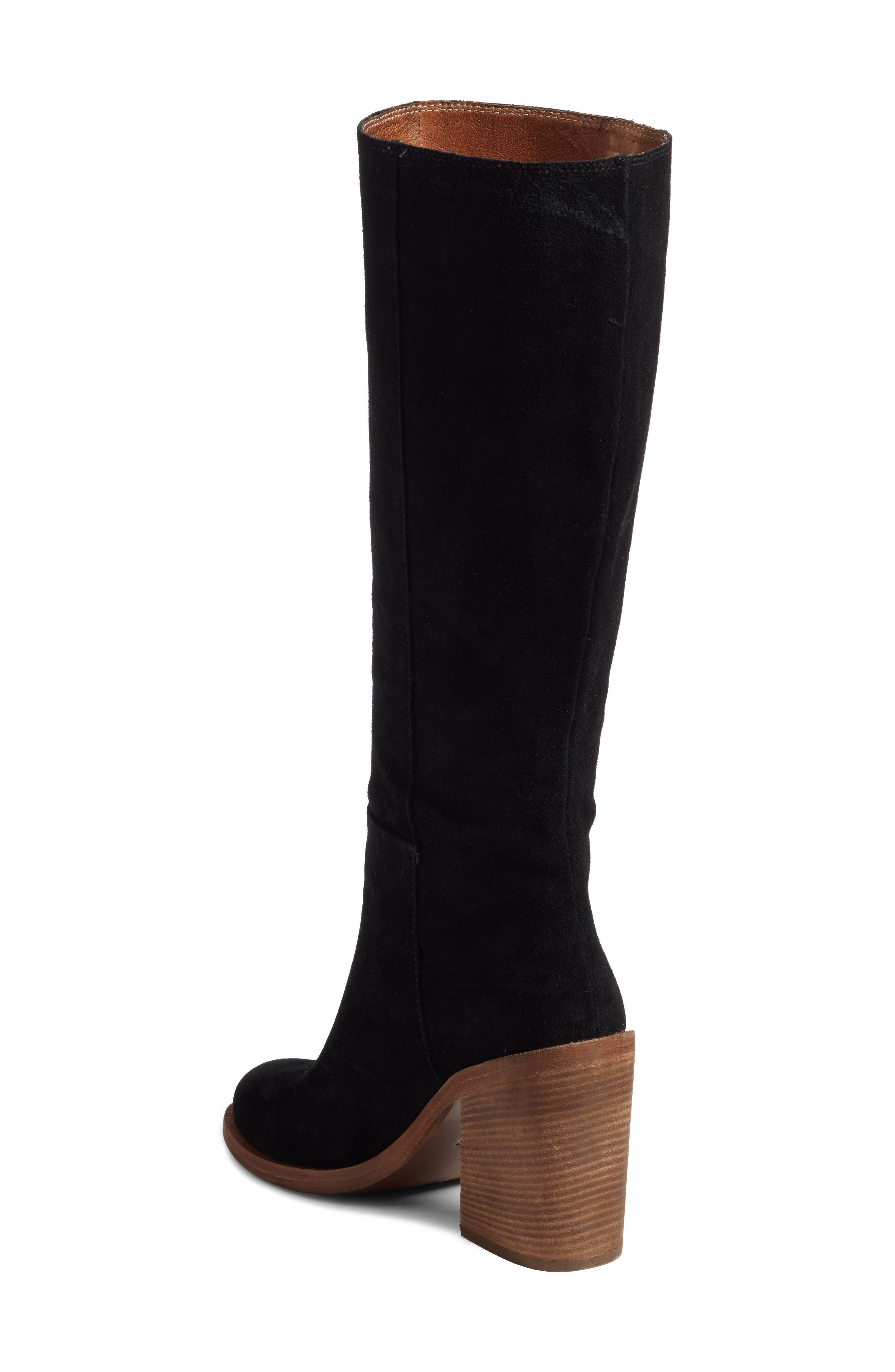 Maeva Knee High Boot,                             Alternate thumbnail 2, color,                             001