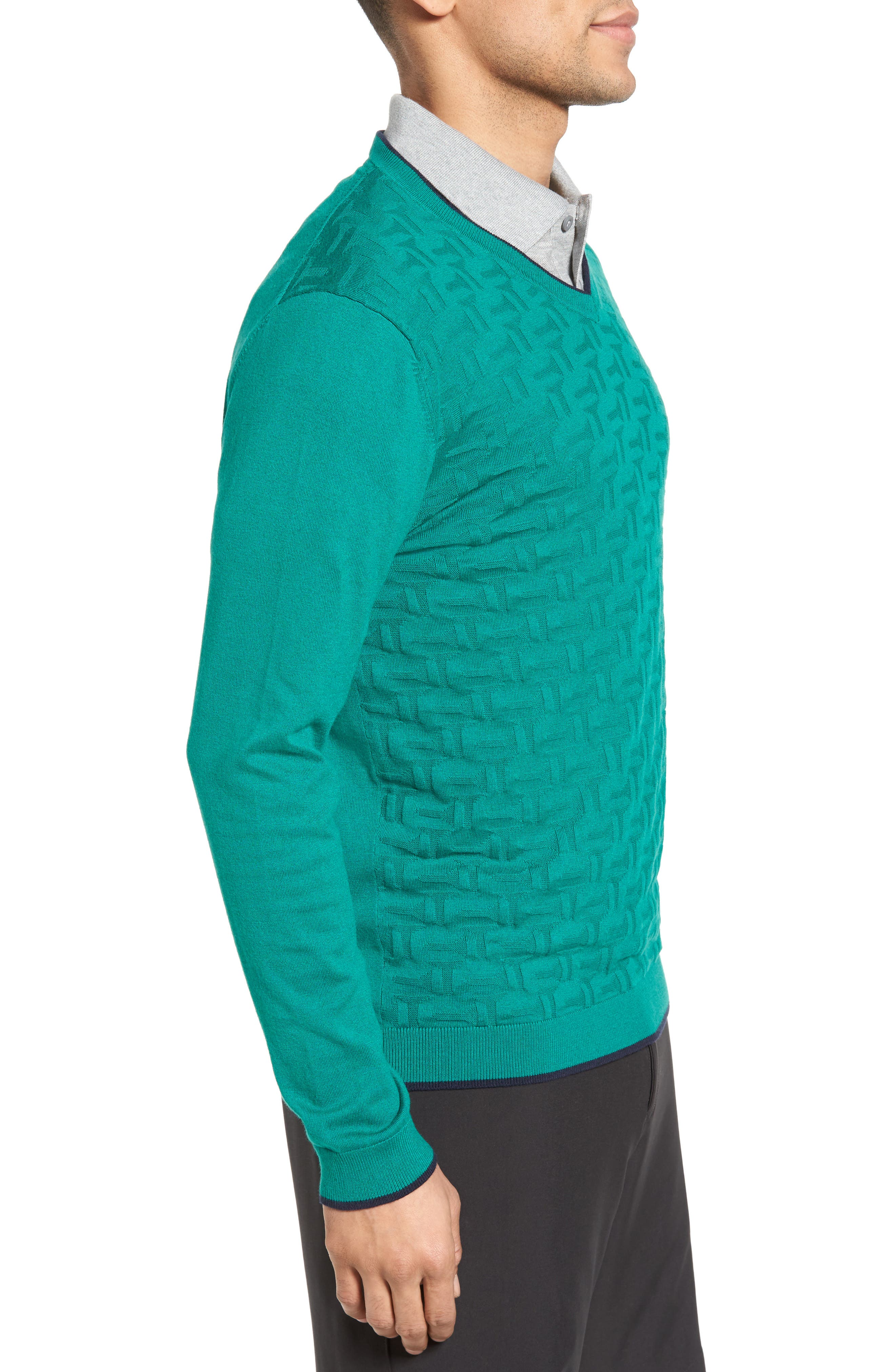 Armstro Tipped Golf Tee Sweater,                             Alternate thumbnail 16, color,