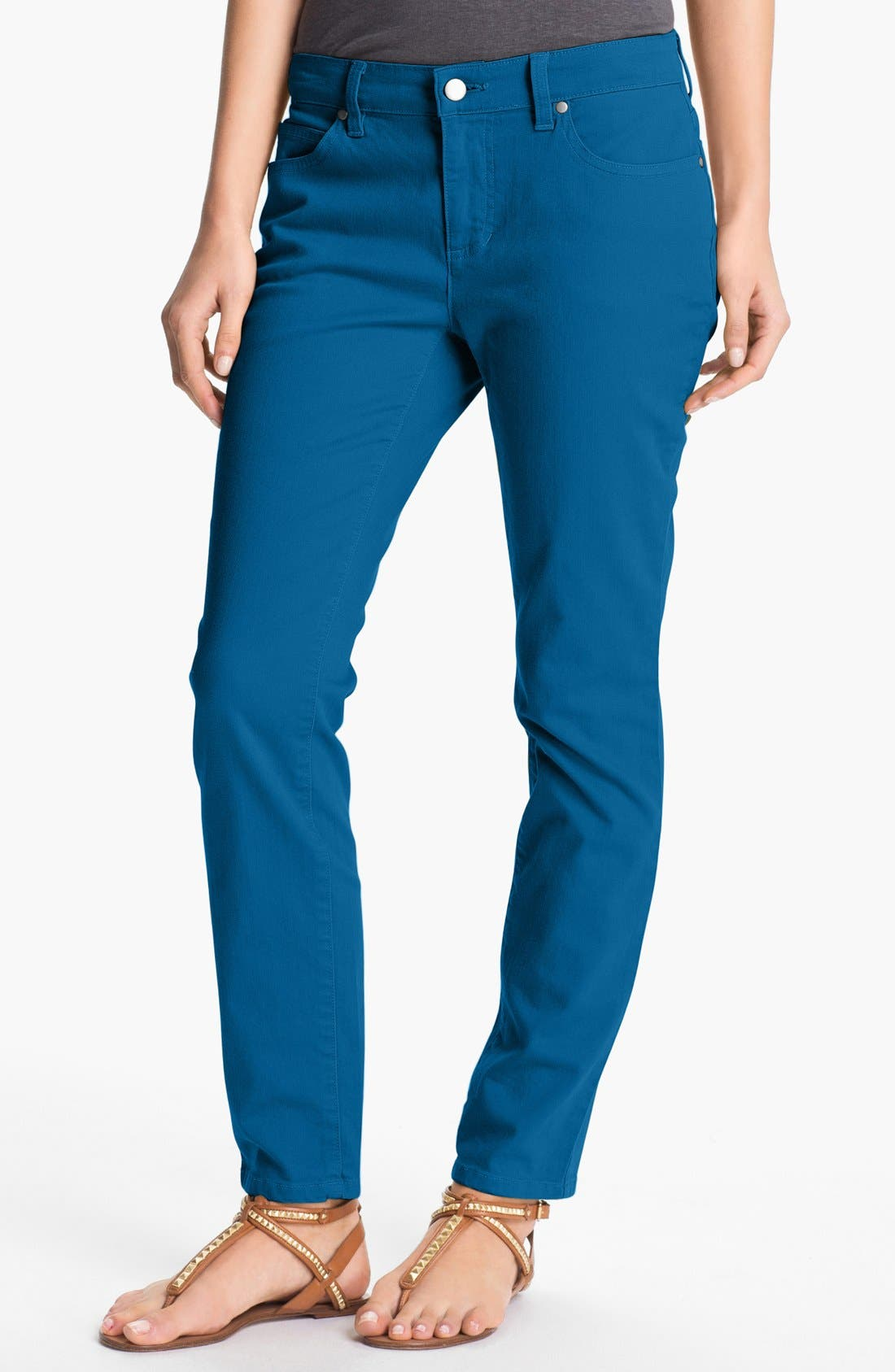 Skinny Ankle Jeans,                             Main thumbnail 12, color,